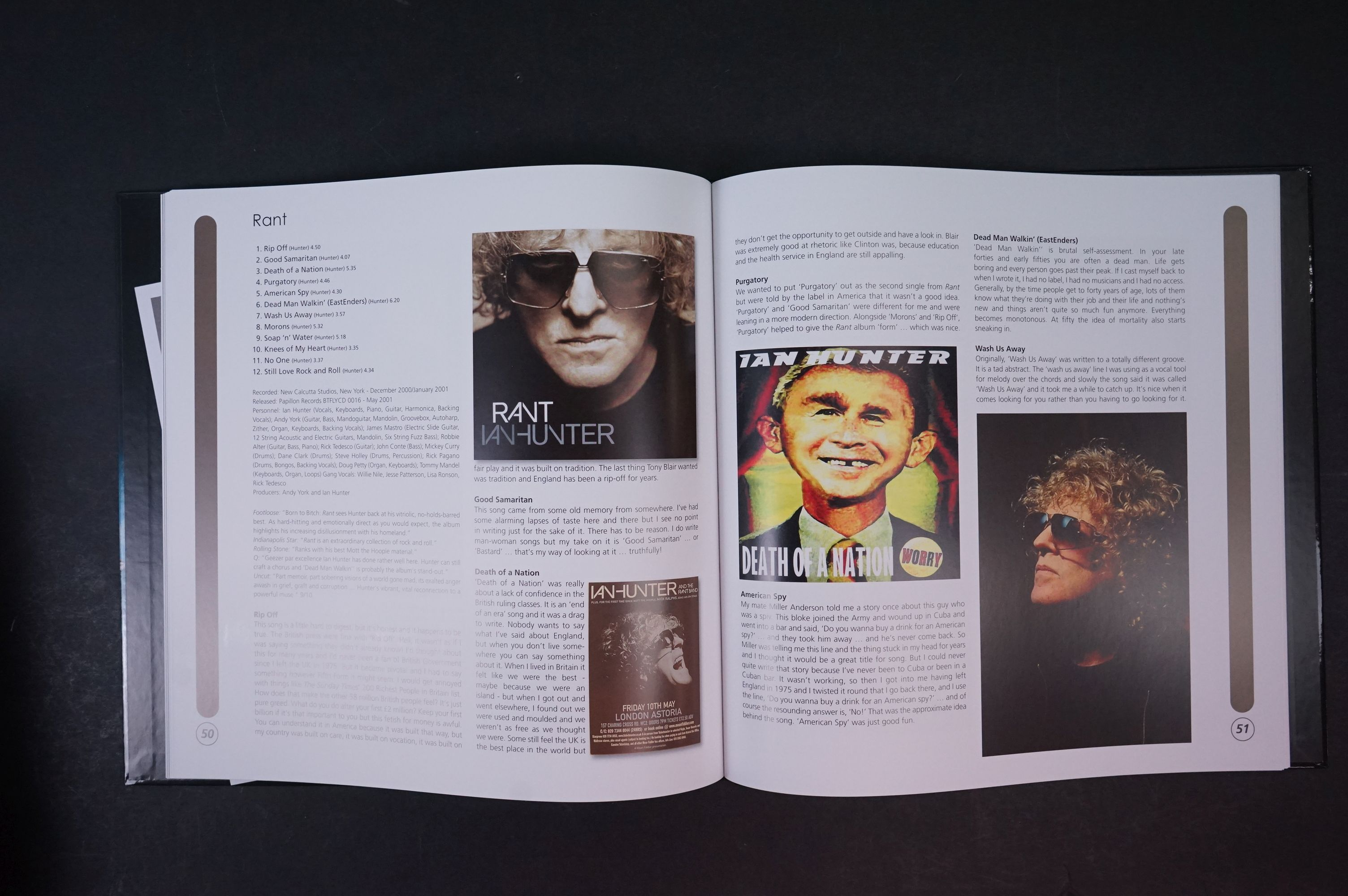 CD - Ian Hunter Stranded In Reality 30 Disc Box Set (2016) Proper Records, vg - Image 4 of 9