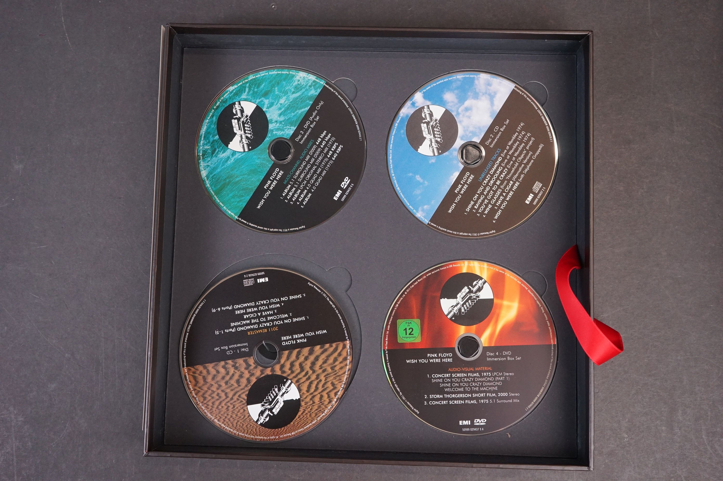 CD / DVD / Bluray - Pink Floyd Wish You Were Here 5 disc box set ex - Image 11 of 13