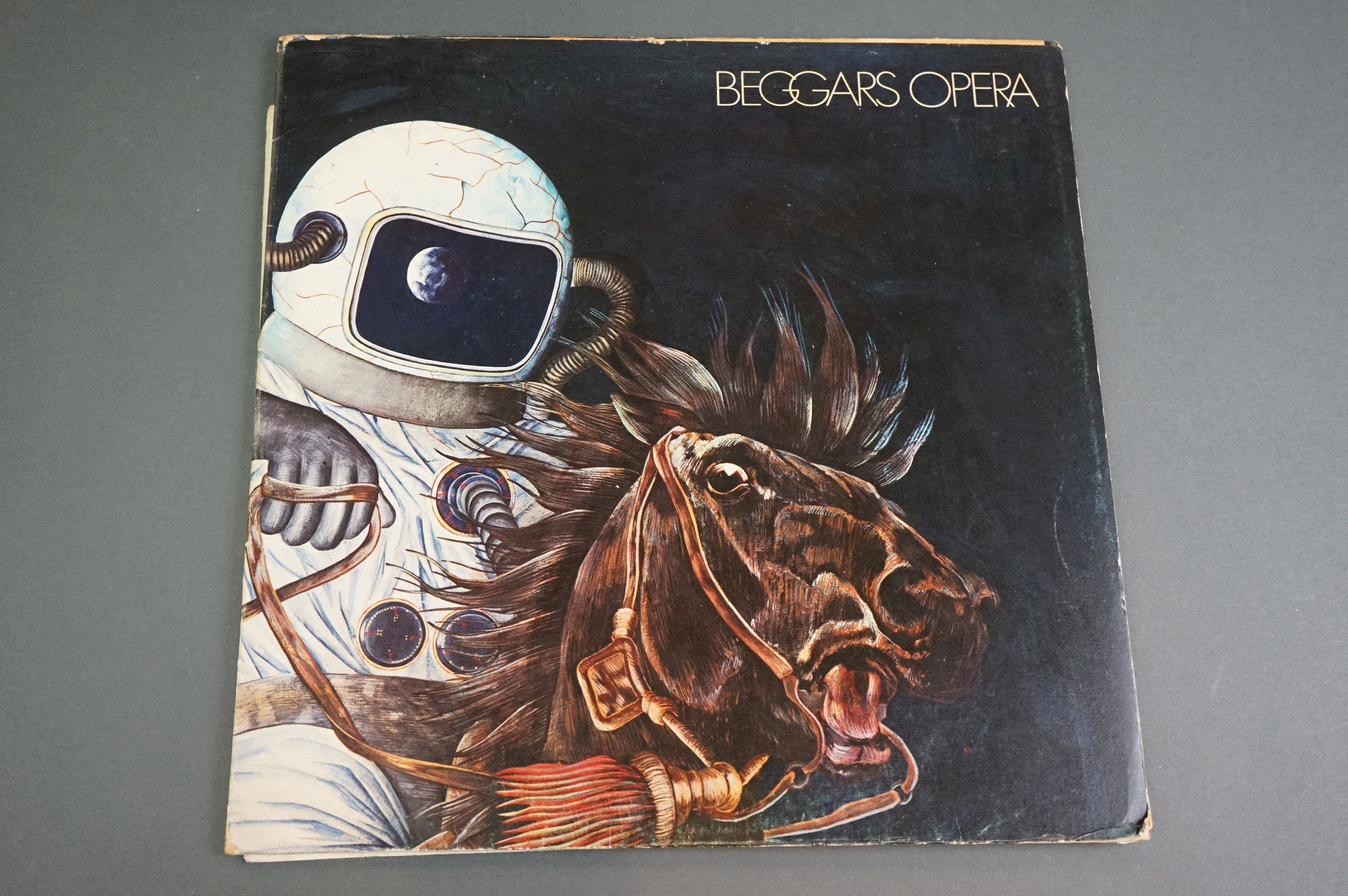 Vinyl - Two Beggars Opera LPs to include Pathfinder on Vertigo 6360073 small swirl label, foldout