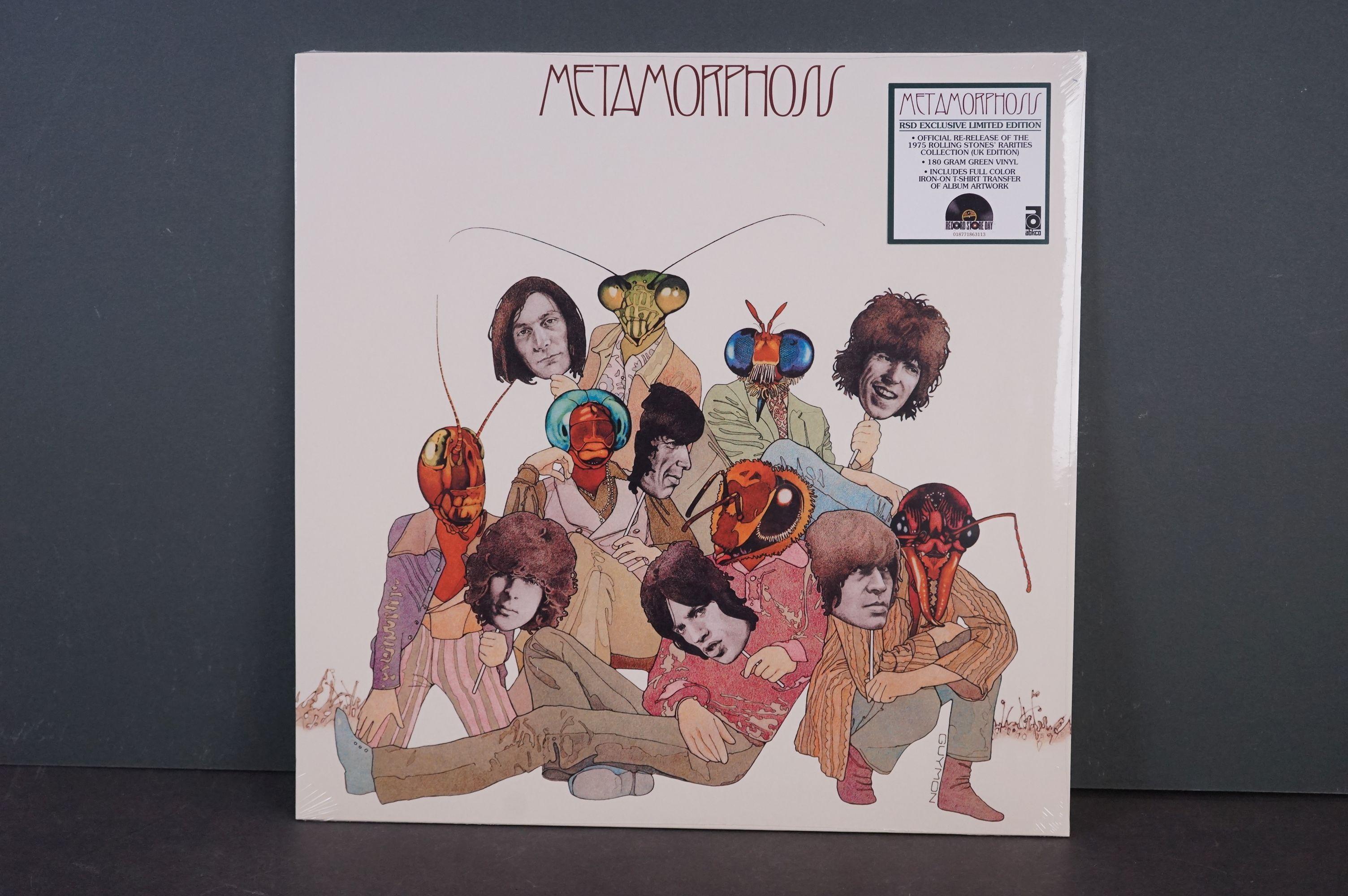 Vinyl - The Rolling Stones Metamorhosis RSD exclusive ltd edn LPABKCO 8631-1, sealed
