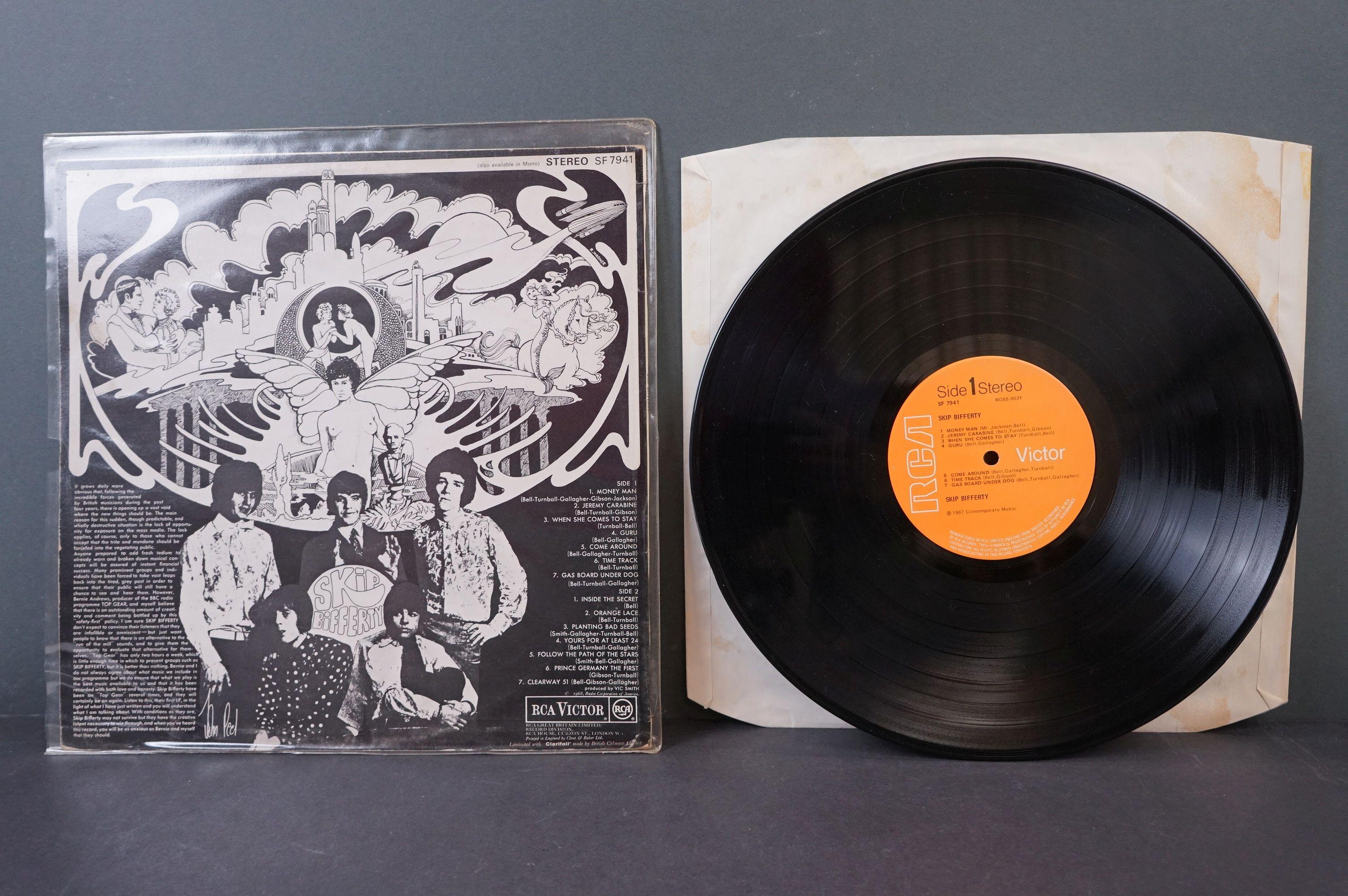 Vinyl - Psych - Skip Bifferty - Skip Bifferty (1968 UK, RCA Records, Orange labels, Stereo Copy) vg+ - Image 3 of 3