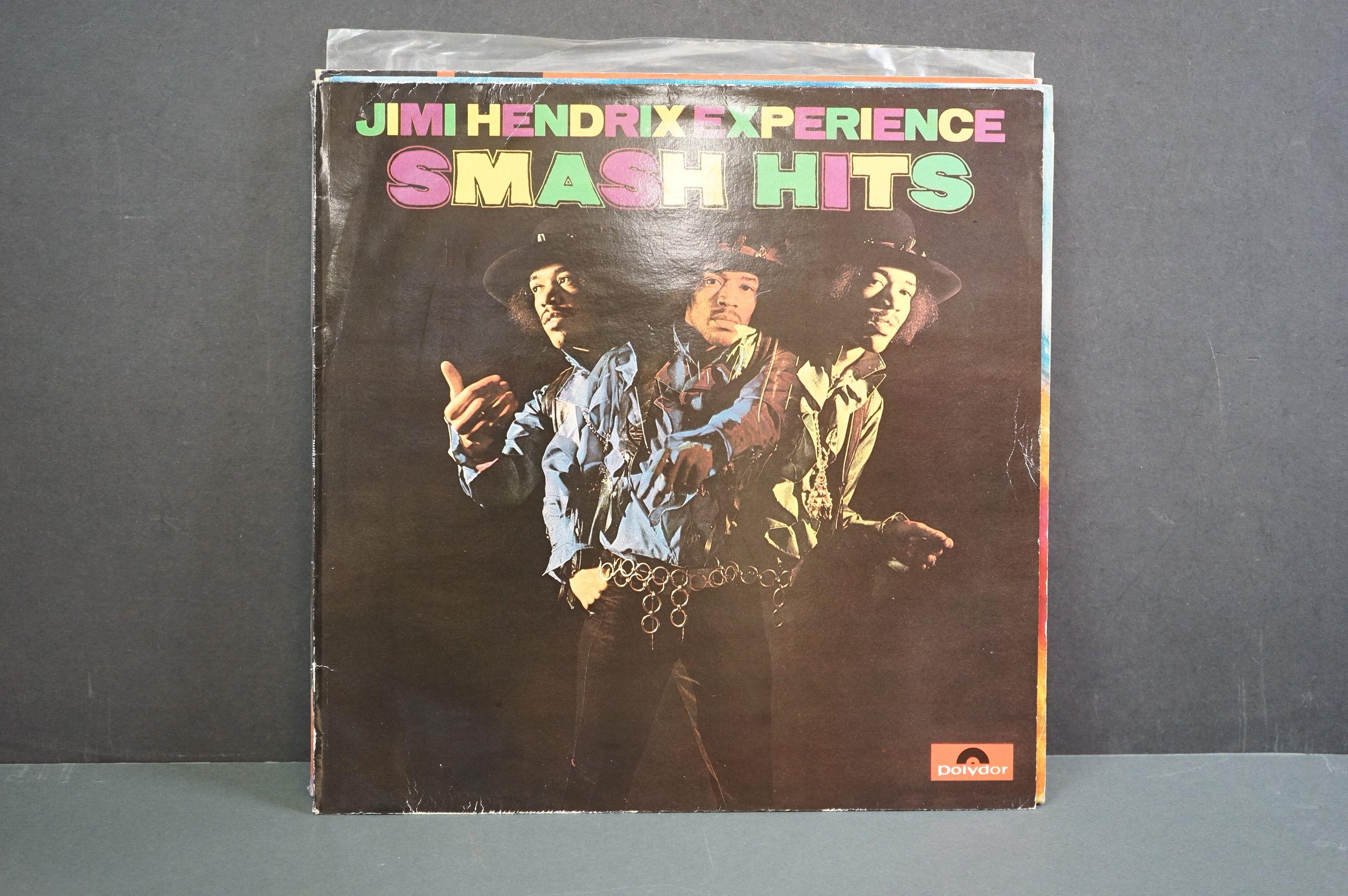 Vinyl - Nine Jimi Hendrix LPs to include Smash Hits, Hey Joe (Italian pressing), Stone Free, Jimi - Image 6 of 9