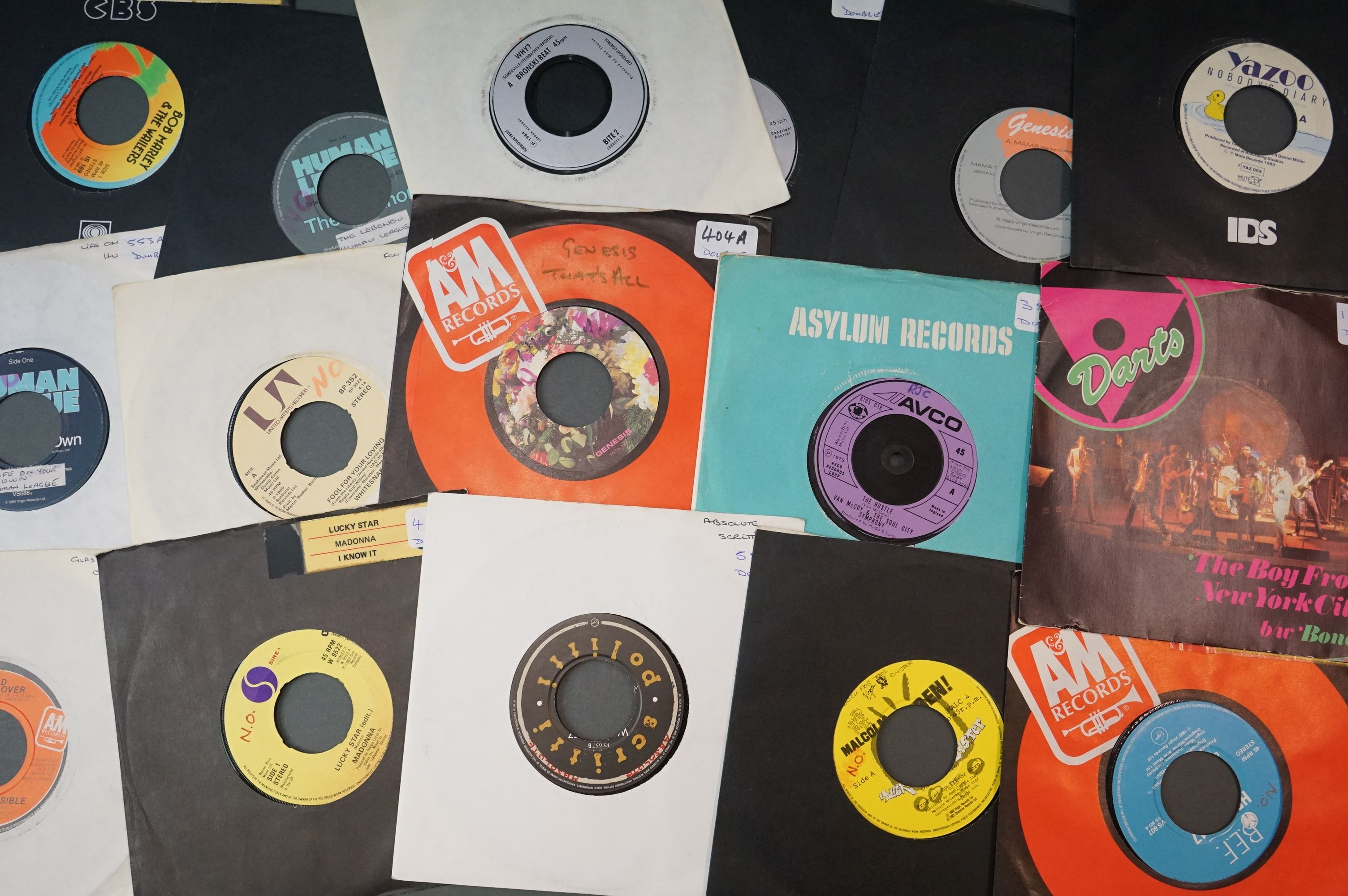 """Vinyl - Towards 600 7"""" singles spanning the genres and decades, company, picture and cardboard - Image 2 of 2"""