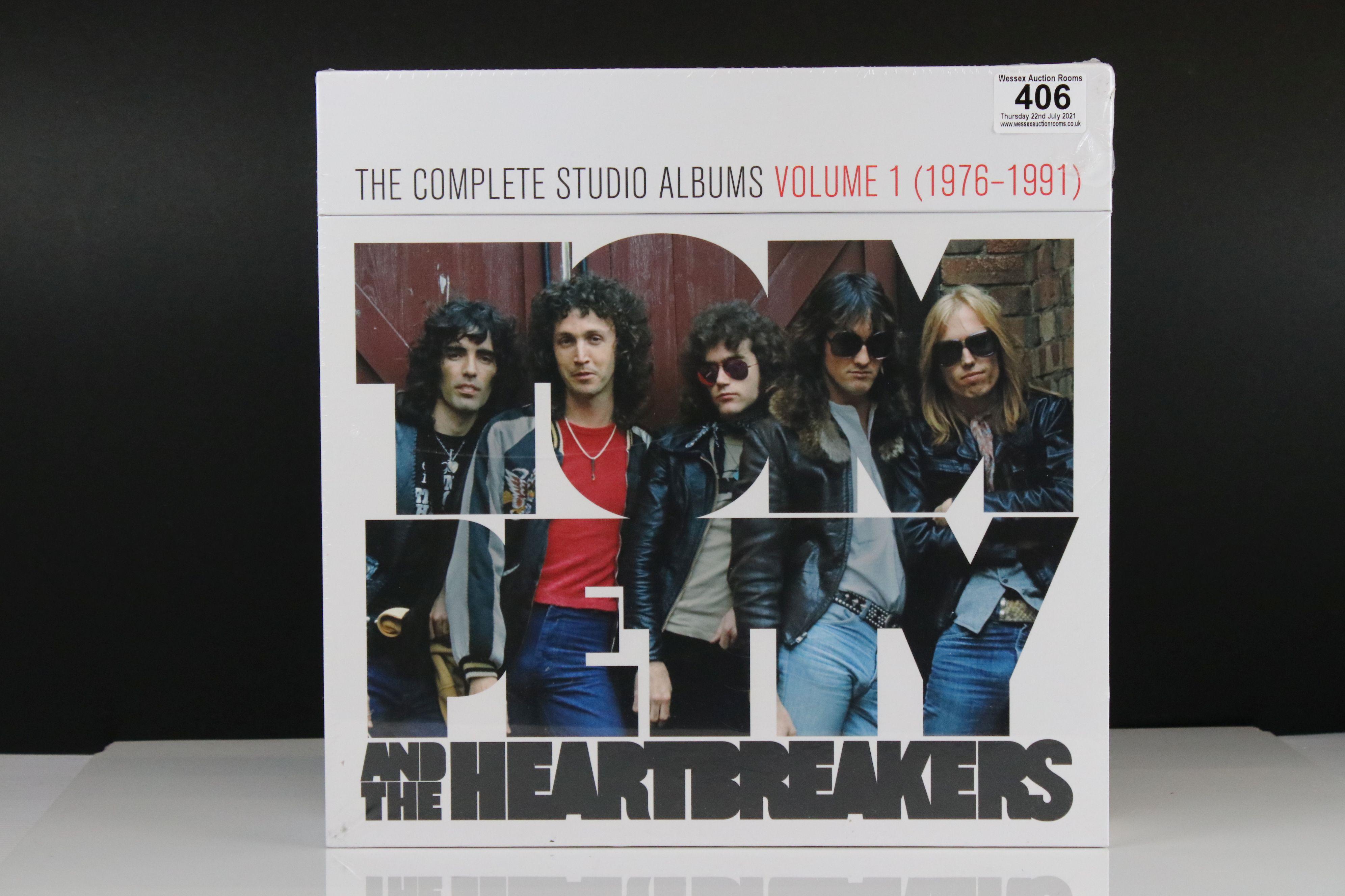 Vinyl - Tom Petty and The Heartbreakers Complete Studio Albums Volume 1 (1976-1991) Box Set, sealed