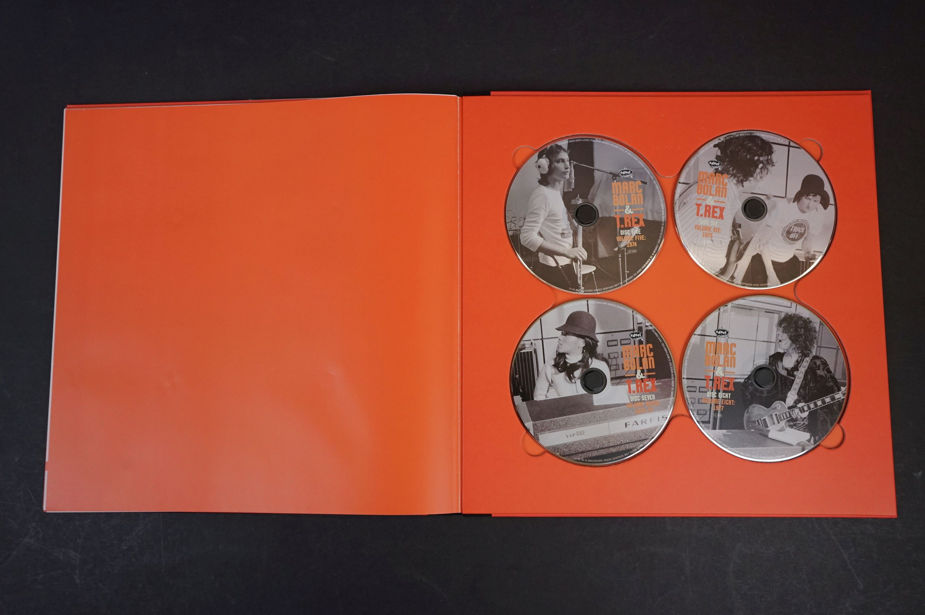 CD - Marc Bolan & T Rex Unchained Home Recordings & Studio Outtakes 8 CD Set UNCHBOX01 ex - Image 5 of 6