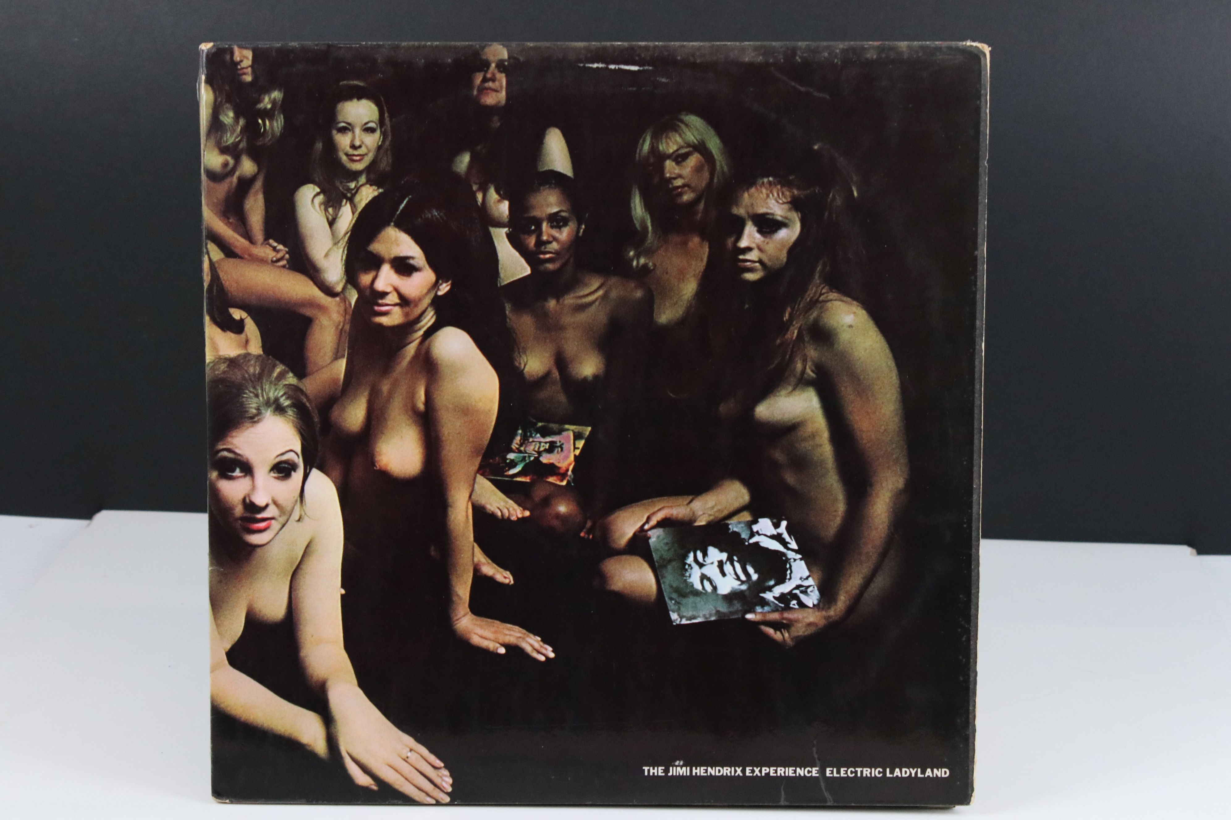Vinyl - Jimi Hendrix Electric Ladyland on Track 61300819 blue text, Jimi to the right when