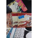 Vinyl -The Rolling Stones collection of around 32 LPs, many duplicated, to include Rolled Gold,
