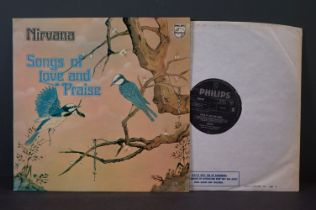 Vinyl - Nirvana Songs of Love and Praise LP on Philips 6308089, stereo, inner sleeve with cut outs