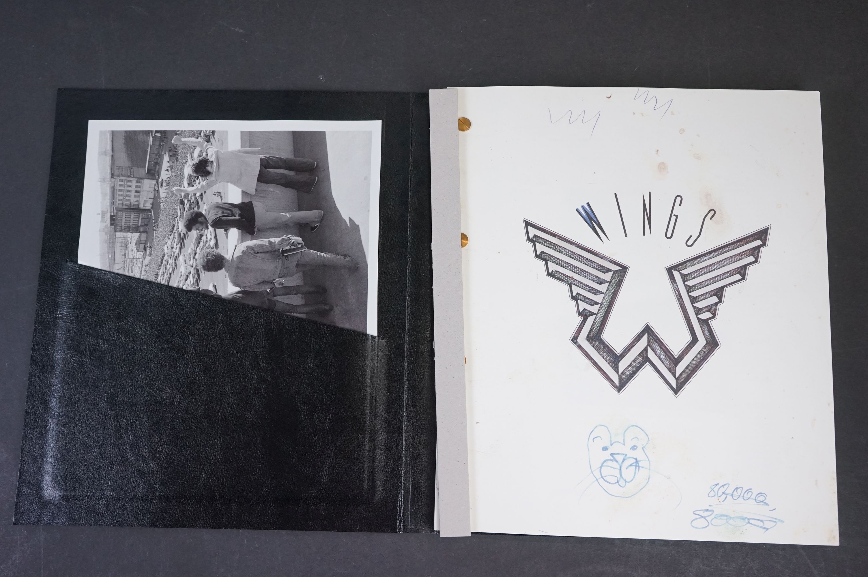 Box Set - Paul McCartney & Wings - Wings Over America numbered box set (03555) deluxe box set, ex - Image 3 of 18