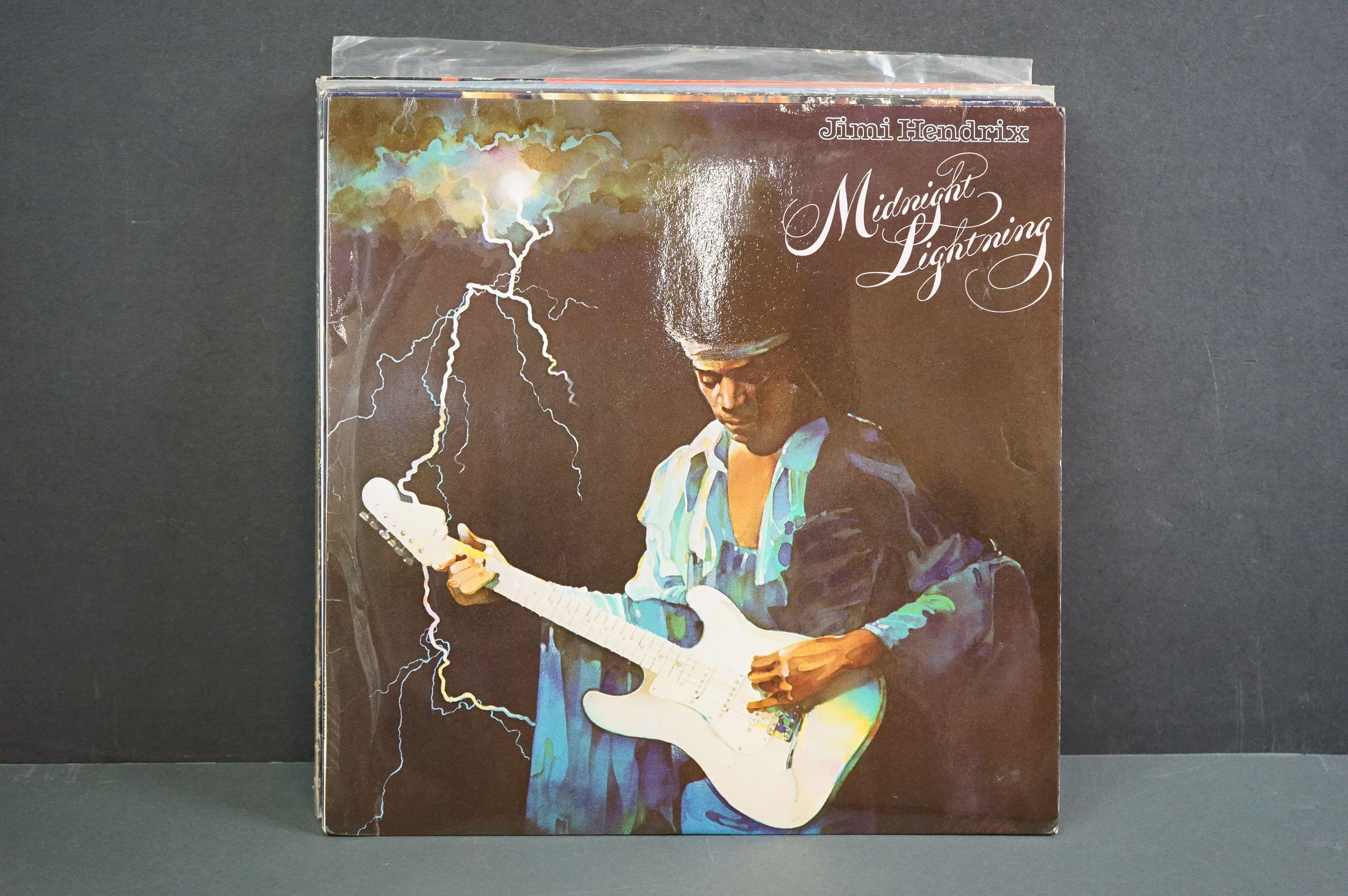 Vinyl - Nine Jimi Hendrix LPs to include Smash Hits, Hey Joe (Italian pressing), Stone Free, Jimi - Image 2 of 9