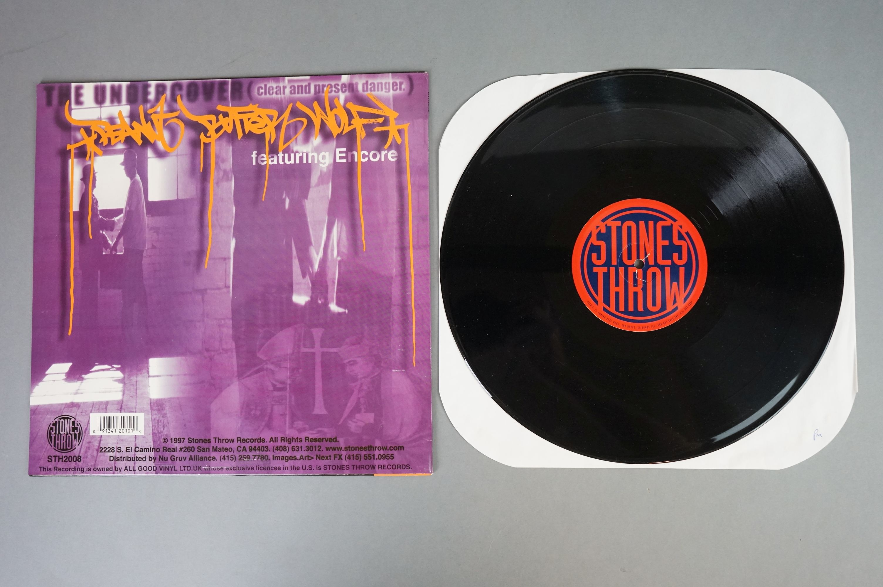 """Vinyl - Slurped Too! 2LP Compilation and 3 x Peanut Butter Wolf 12"""" singles to include Run The - Image 5 of 11"""