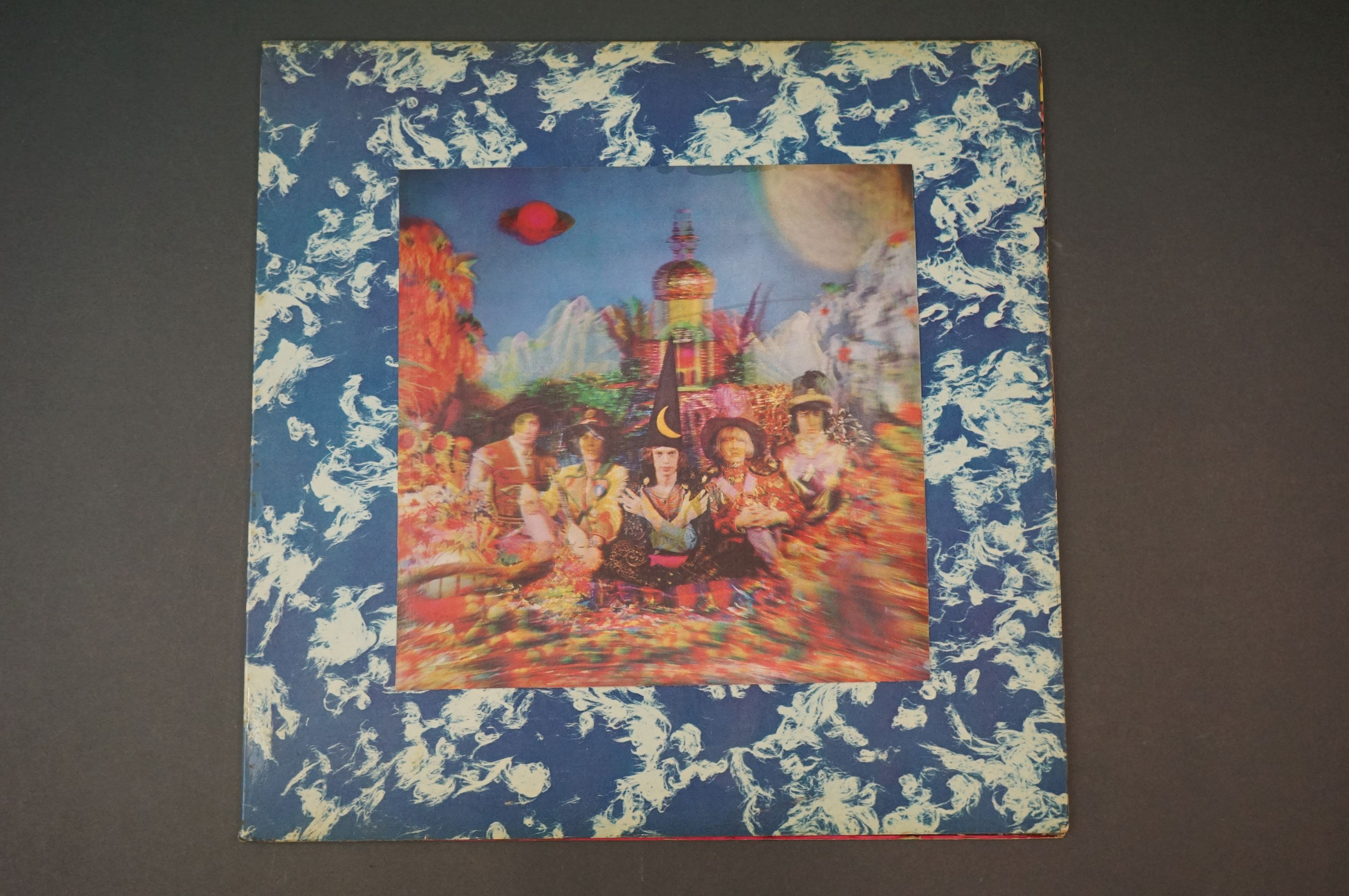 Vinyl - The Rolling Stones Their Satanic Majesties Request TXS103, Decca unboxed green stereo label,