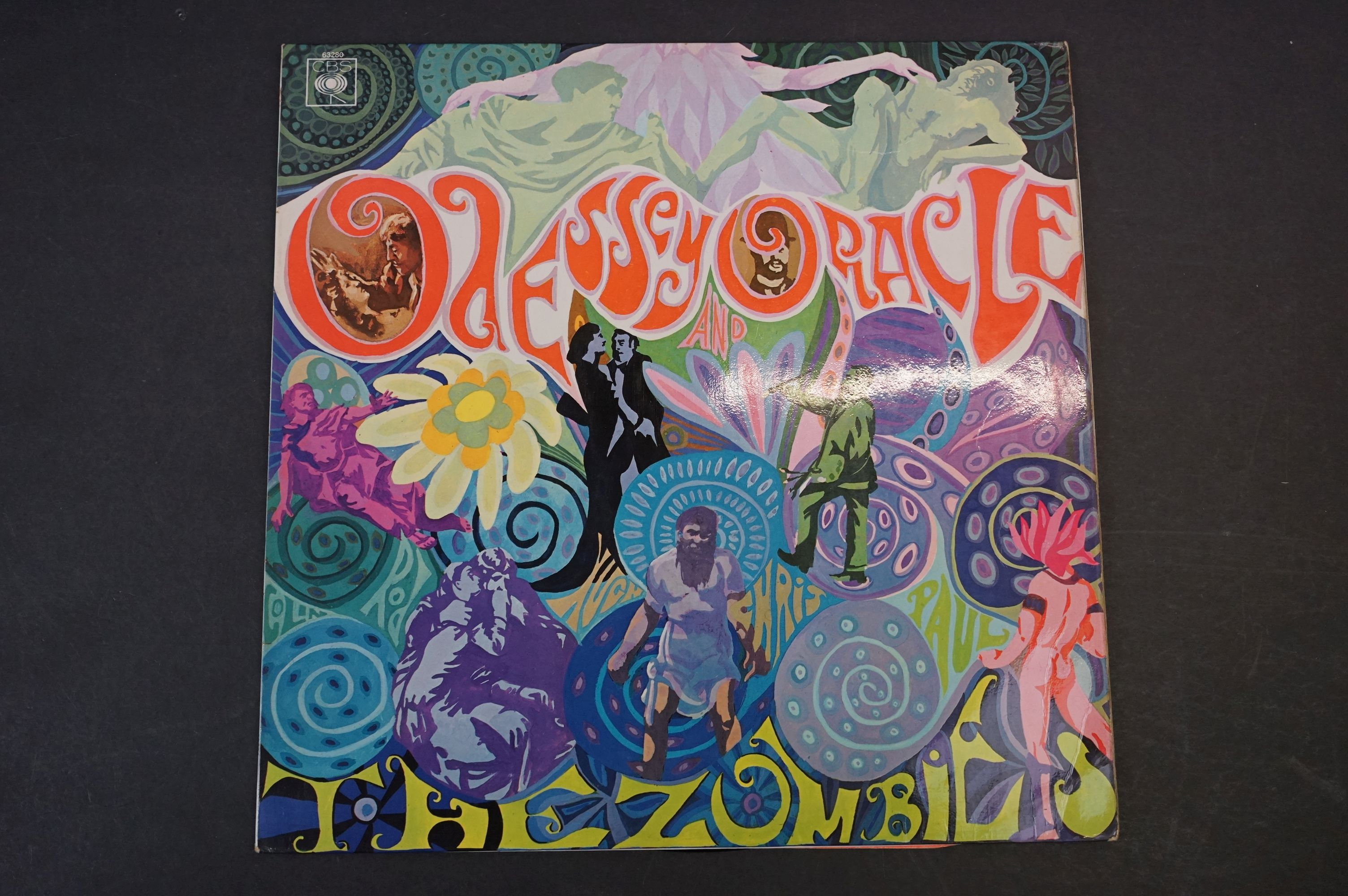 Vinyl - The Zombies Odessey and Oracle on CBS SBPG63280 Stereo, 1968, with CBS Inner sleeve, vinyl