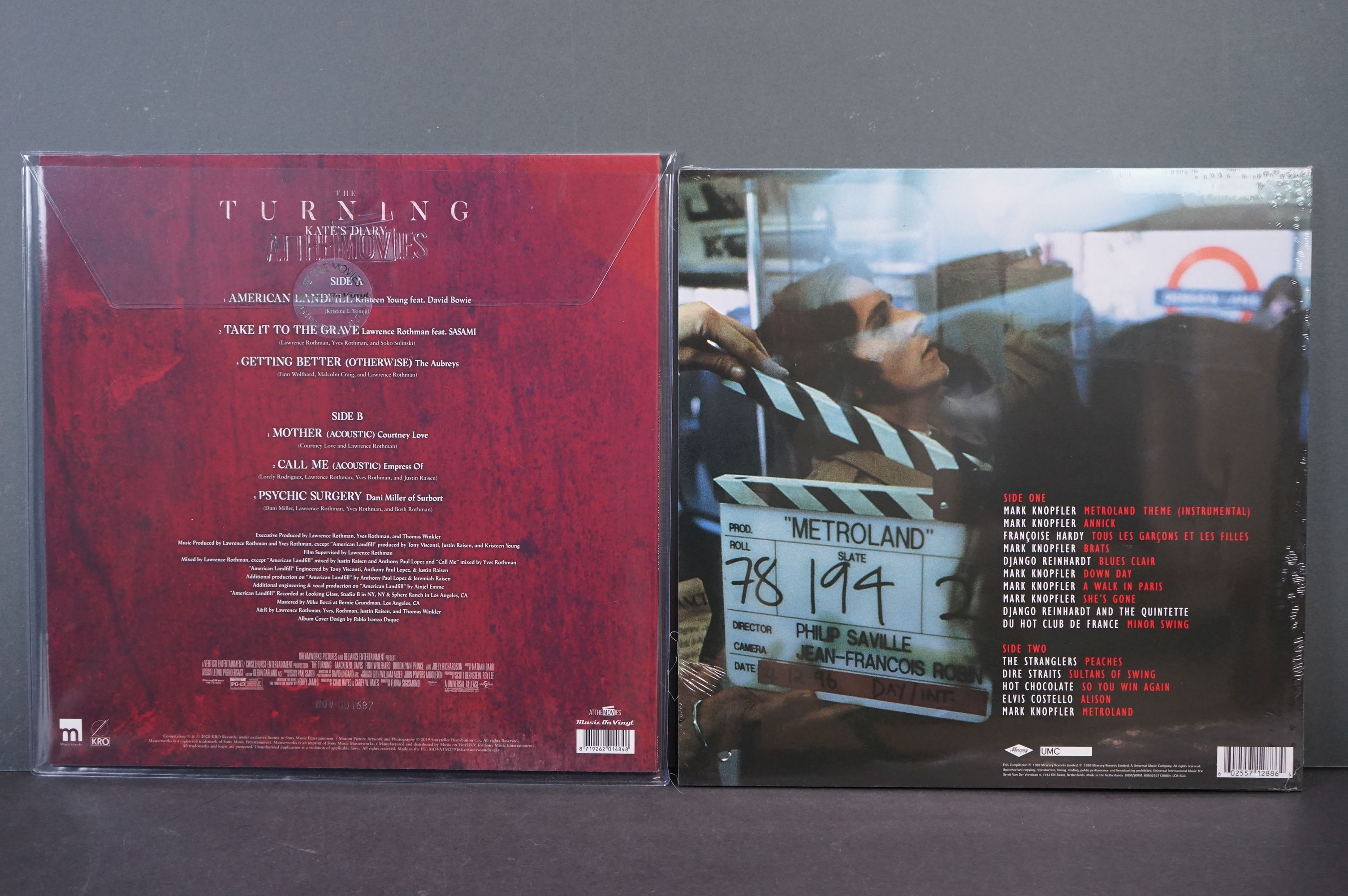 Vinyl - The Turning Kate's Diary ltd edn coloured vinyl LP At The Movies MOVATM279 featuring Davod - Image 2 of 2
