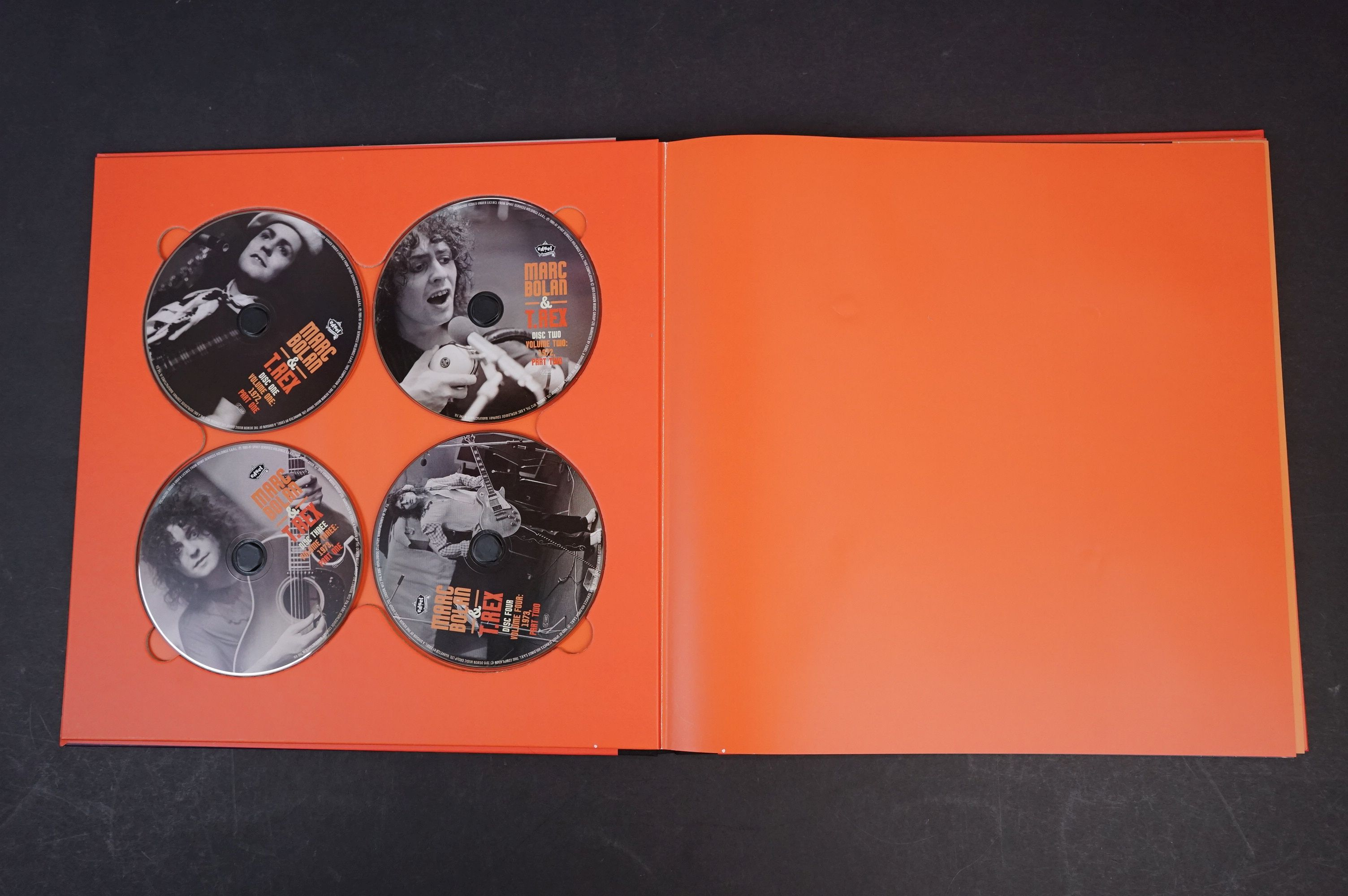 CD - Marc Bolan & T Rex Unchained Home Recordings & Studio Outtakes 8 CD Set UNCHBOX01 ex - Image 2 of 6
