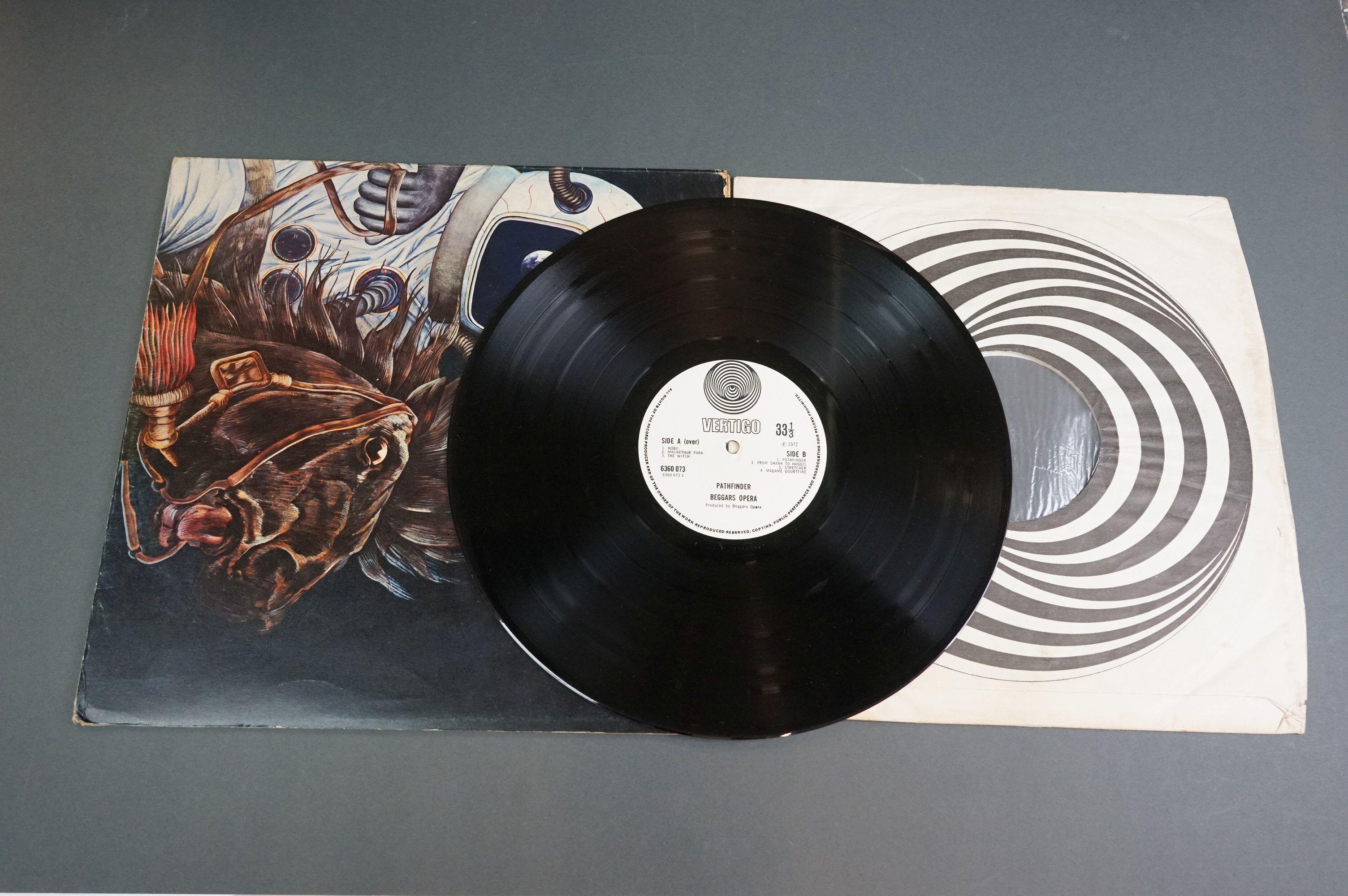 Vinyl - Two Beggars Opera LPs to include Pathfinder on Vertigo 6360073 small swirl label, foldout - Image 3 of 5