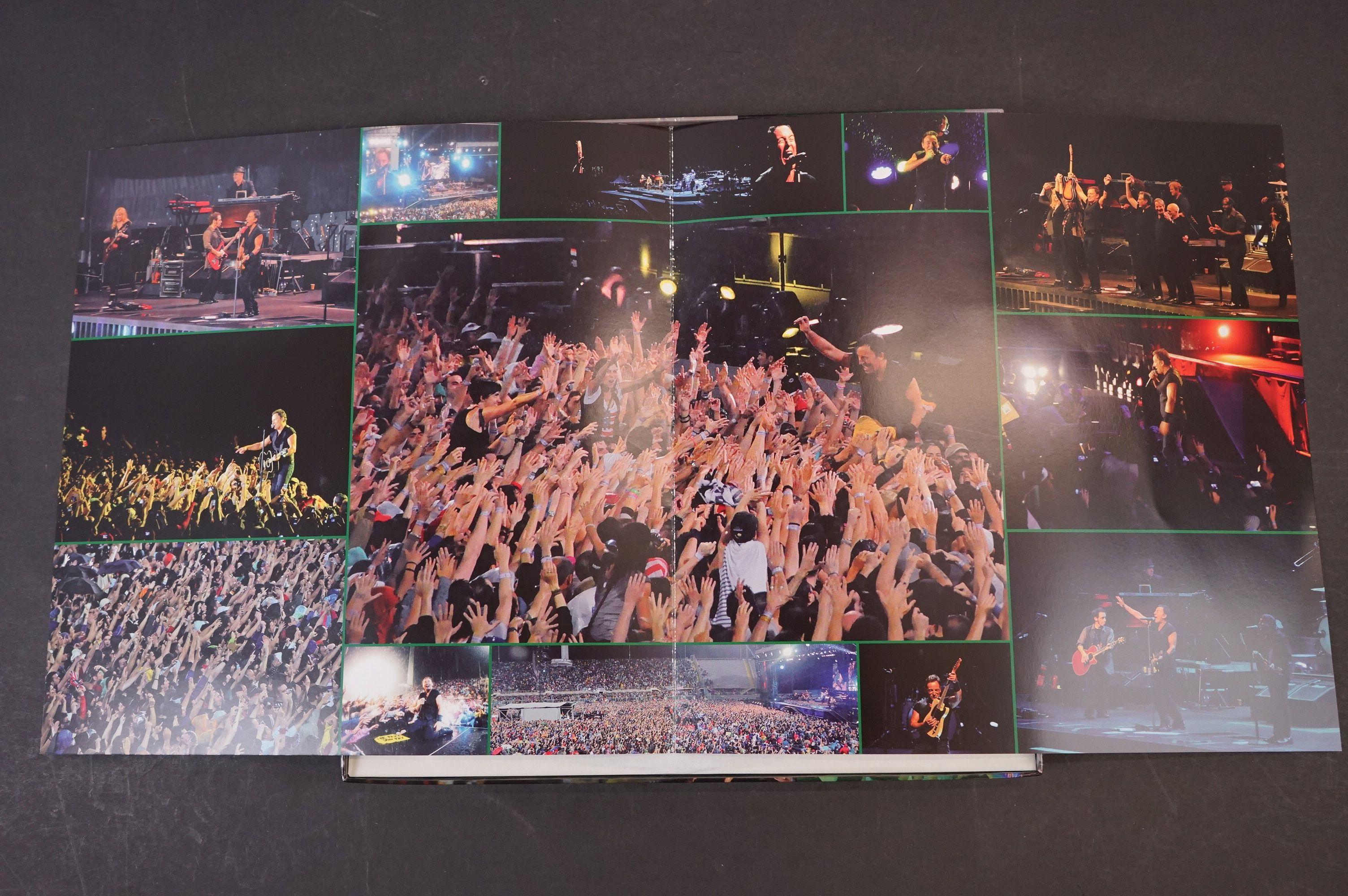 Vinyl - ltd edn Bruce Springsteen and The E Street Band A Firenze 10.06.2012 5 LP 3 CD 1 DVD heavy - Image 3 of 10