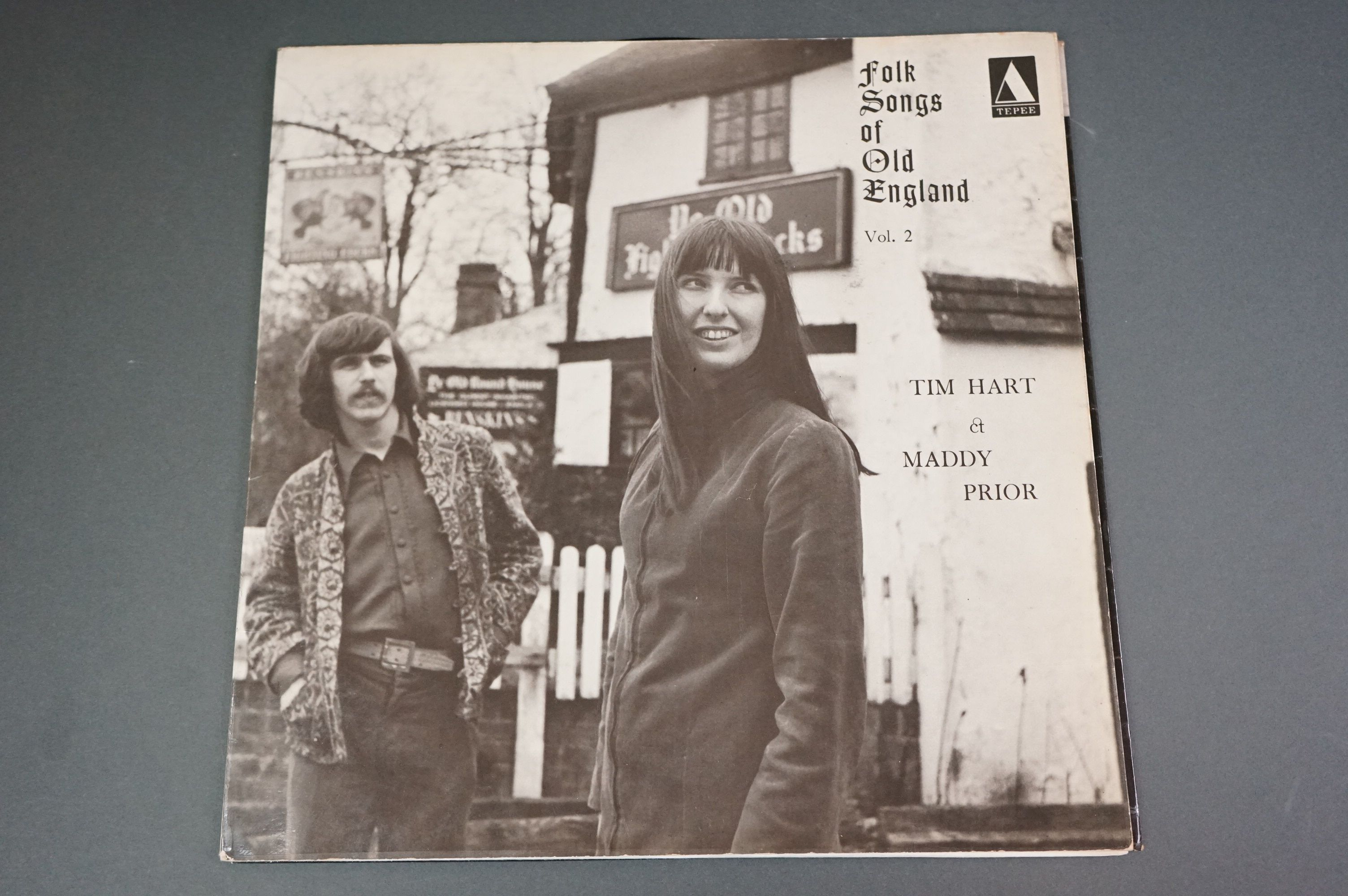 Vinyl - Tim Hart Maddy Prior Folk Songs of Old England vol 2 Tepee105 on Yellow Tepee Label,