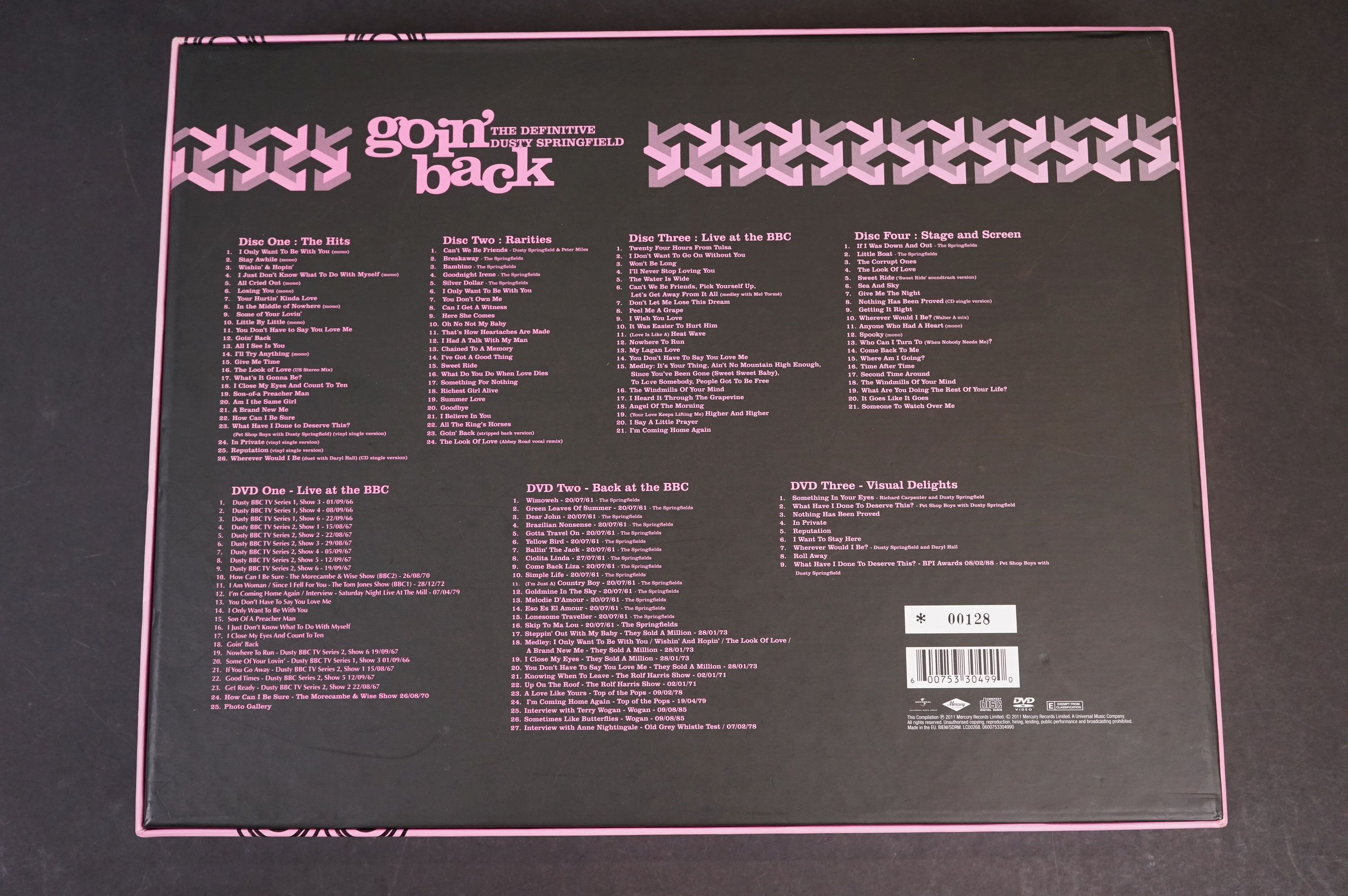 CD / DVD - Dusty Springfield Goin' Back The Definitive Box Set, ltd edn number 00128, ex with some - Image 7 of 8
