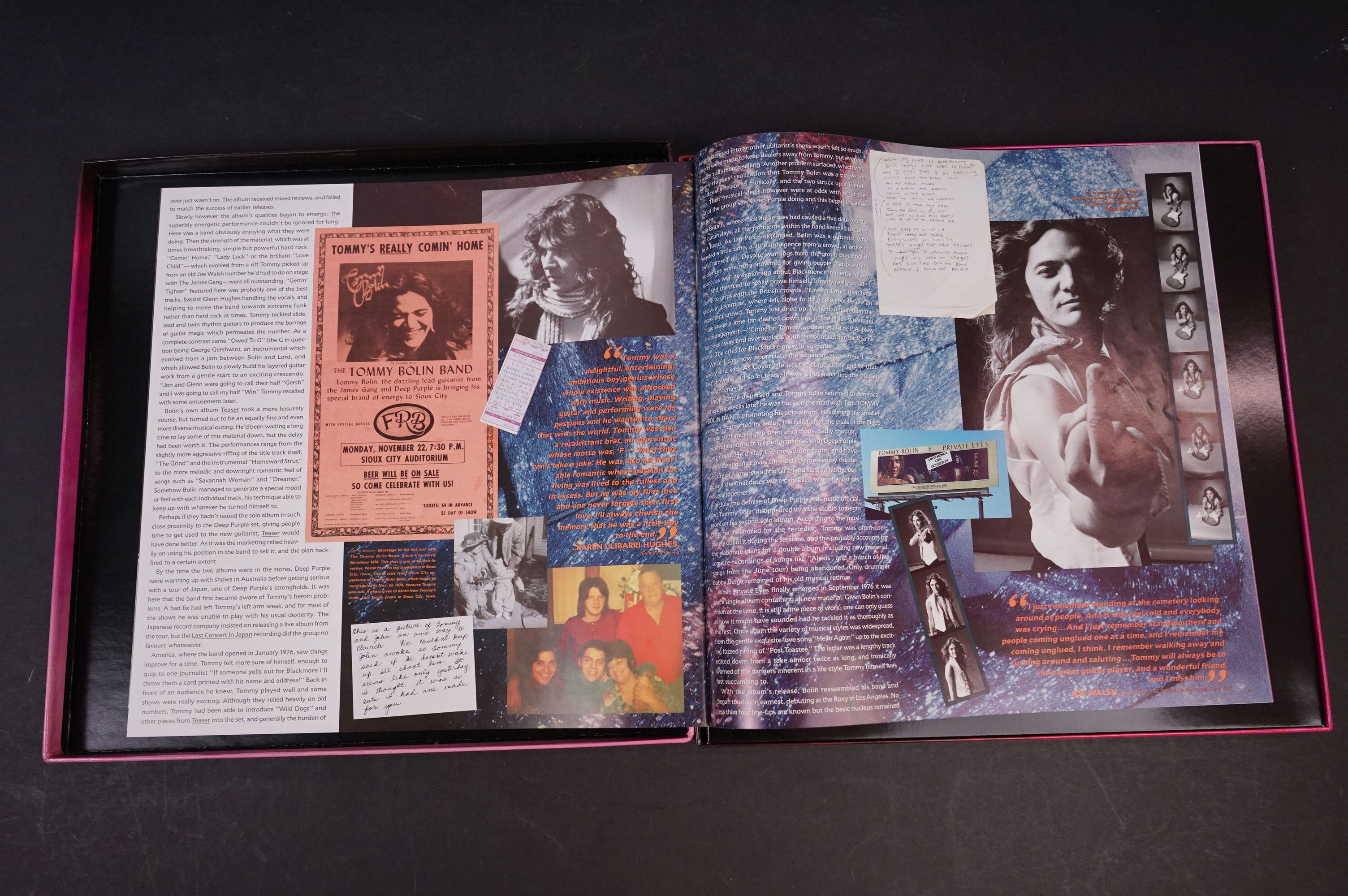 CD - Tommy Bolin The Ultimate... Box Set on Geffen 2-24248, vg - Image 3 of 5