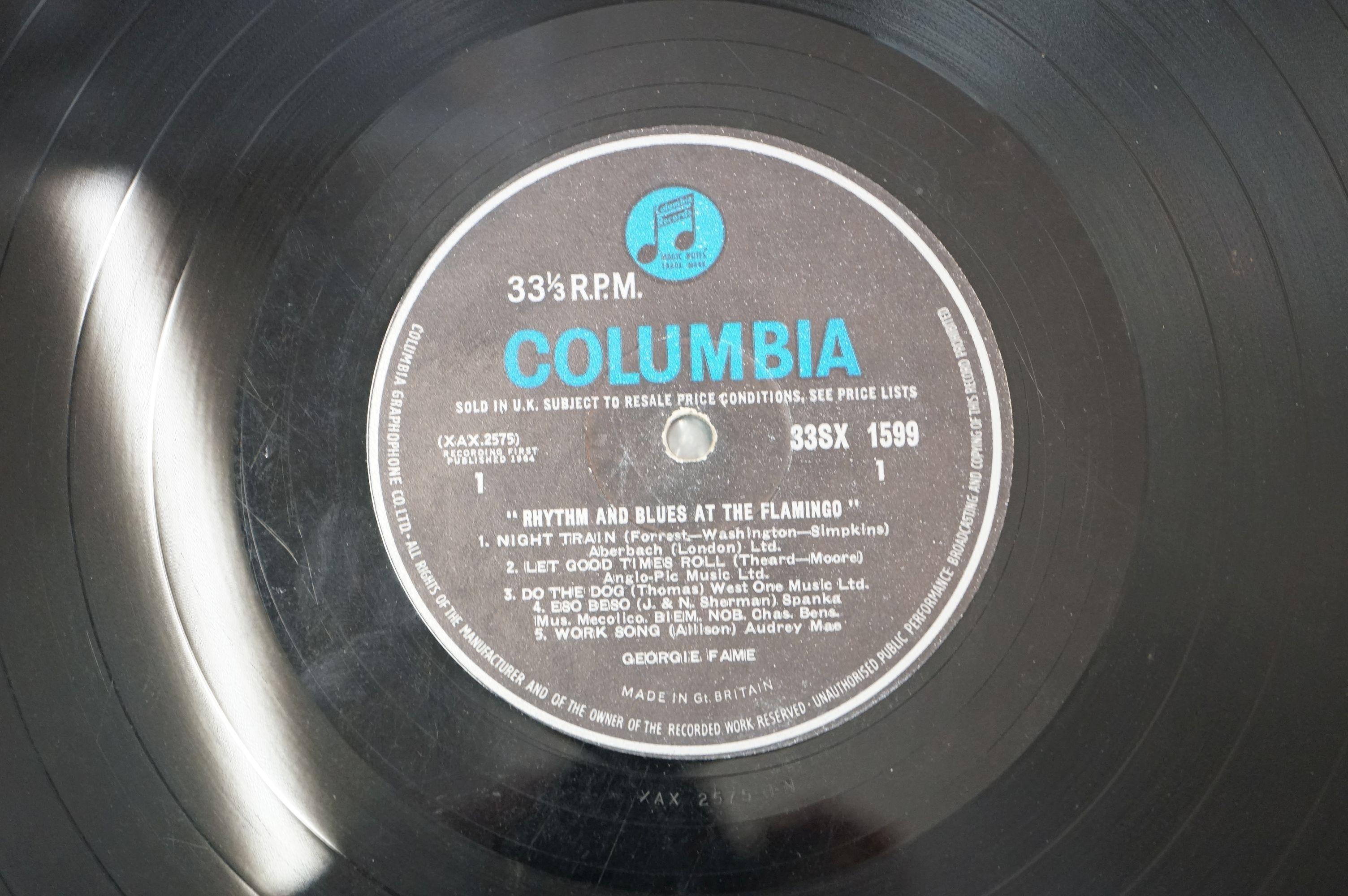 Vinyl - Georgie Fame Rhythm And Blues At The Flamingo (Columbia 33 SX 1599). Sleeve & Vinyl VG- - Image 4 of 4