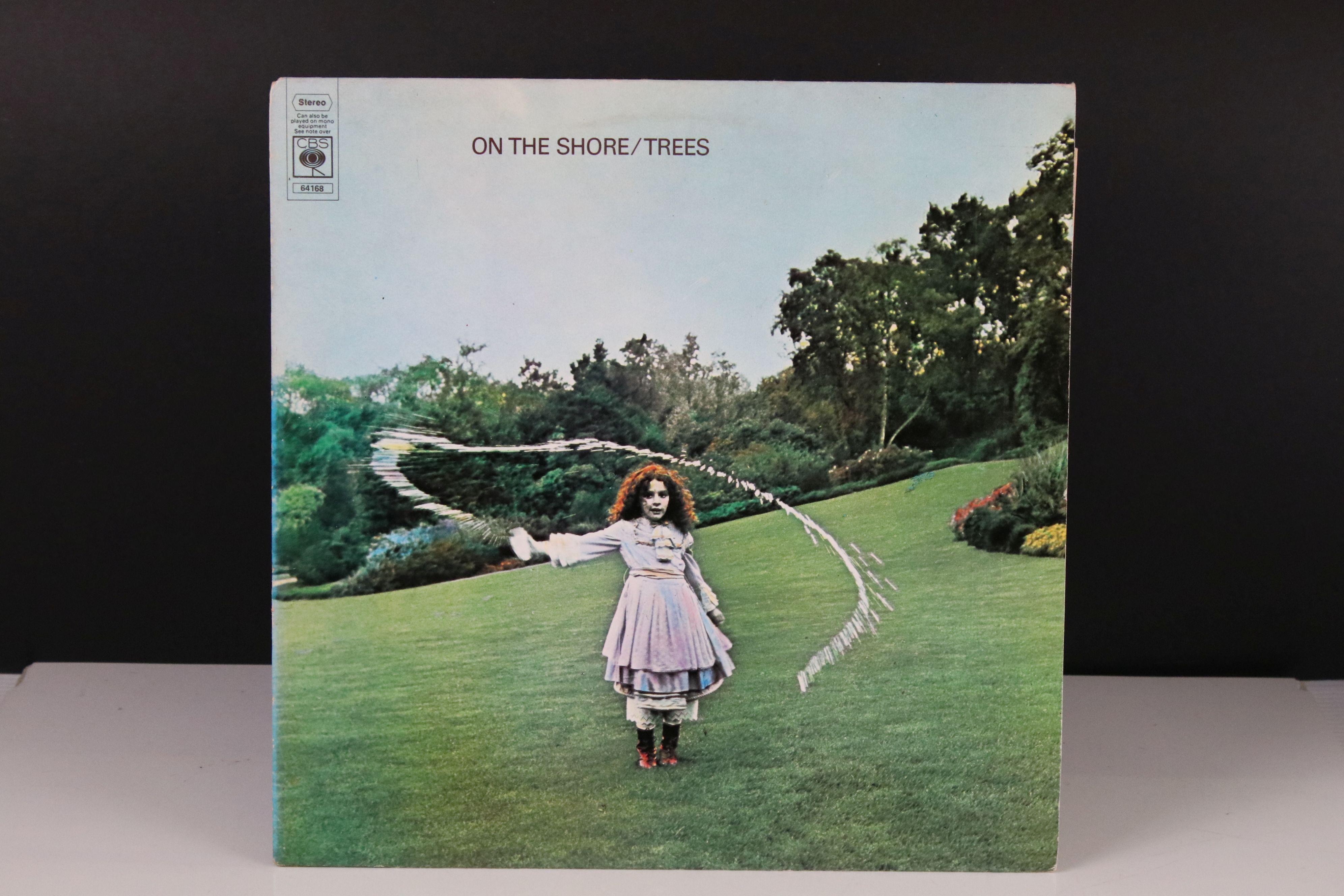 Vinyl - Trees On The Shore LP on CBS 64168 Stereo, vg+