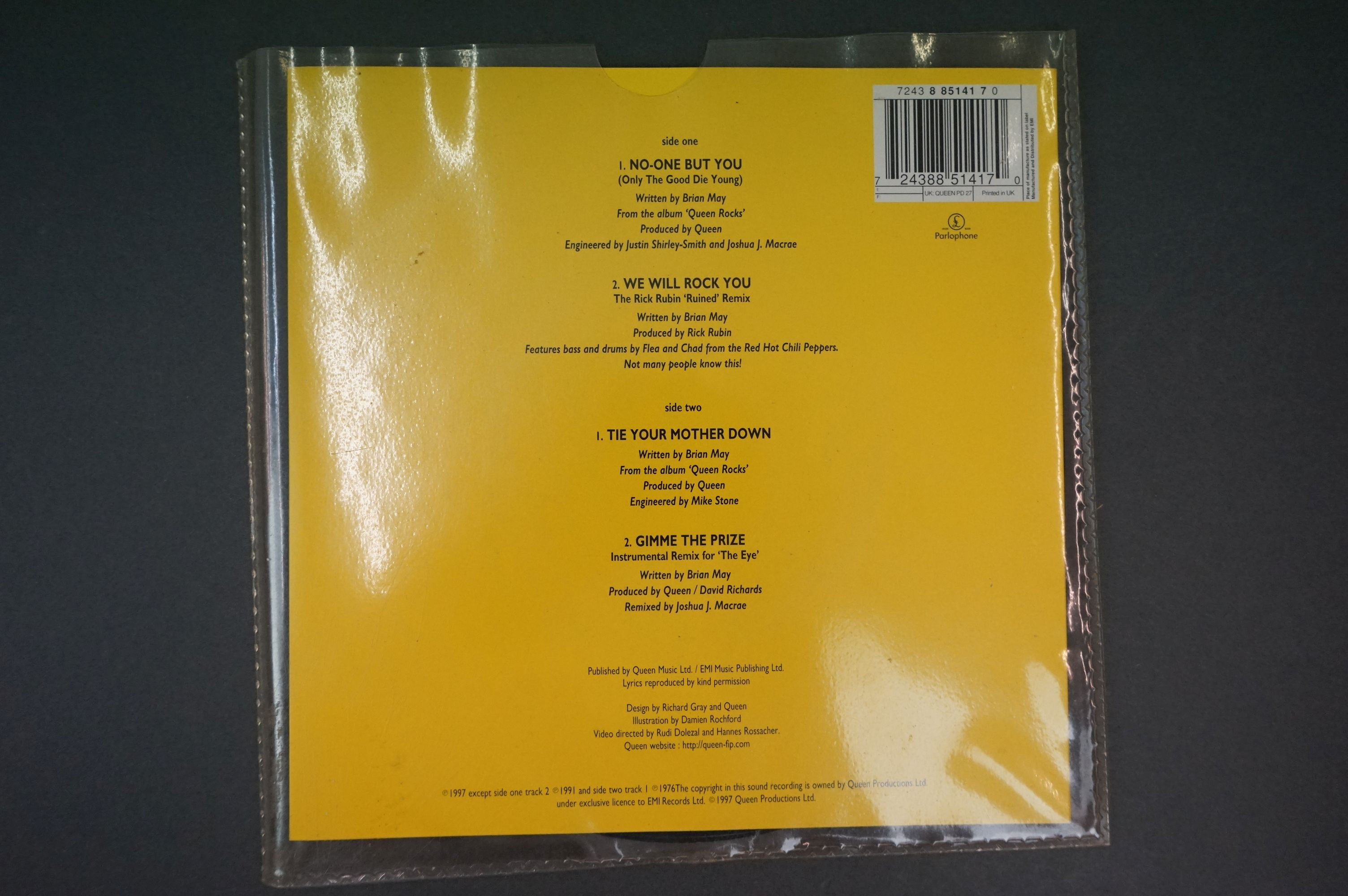 Vinyl - Queen & related collection of 7 inch singles including 12 x No One But You Ltd Edn picture - Image 11 of 11