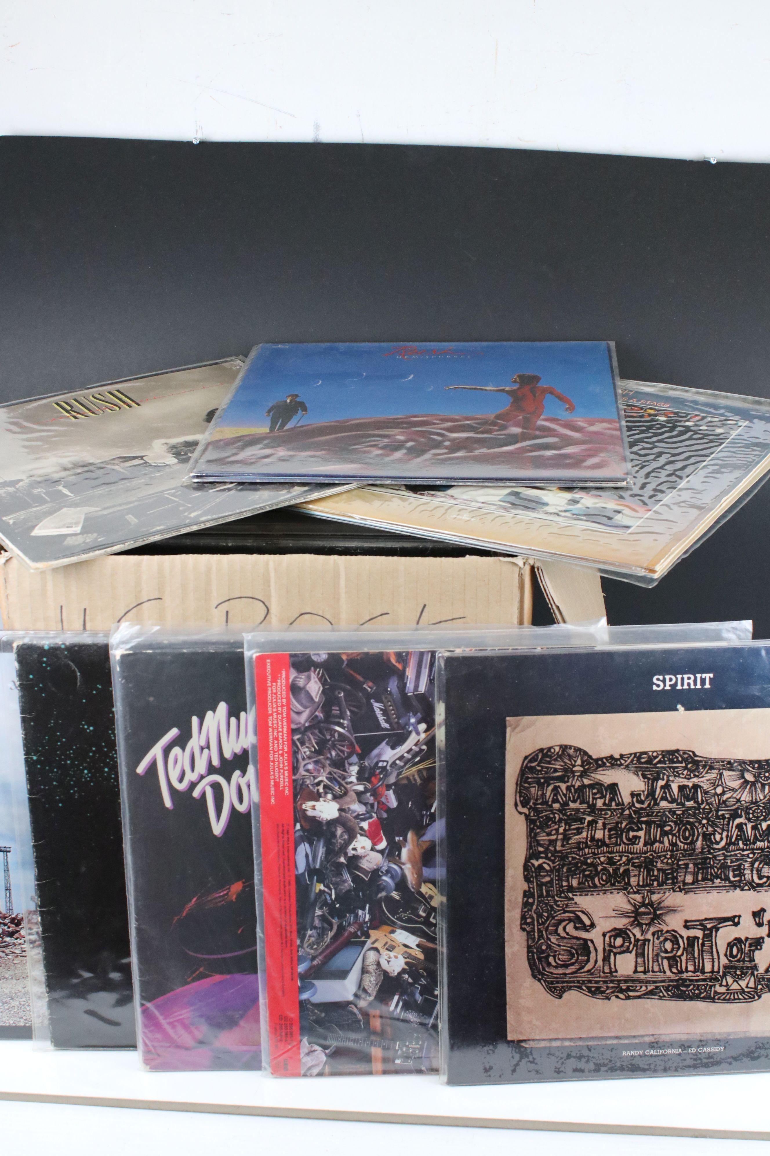 Vinyl - Around 65 US Rock LPs to include Rush, Todd Rundgren, Kiss, Steeley Dan, Lone Star etc,