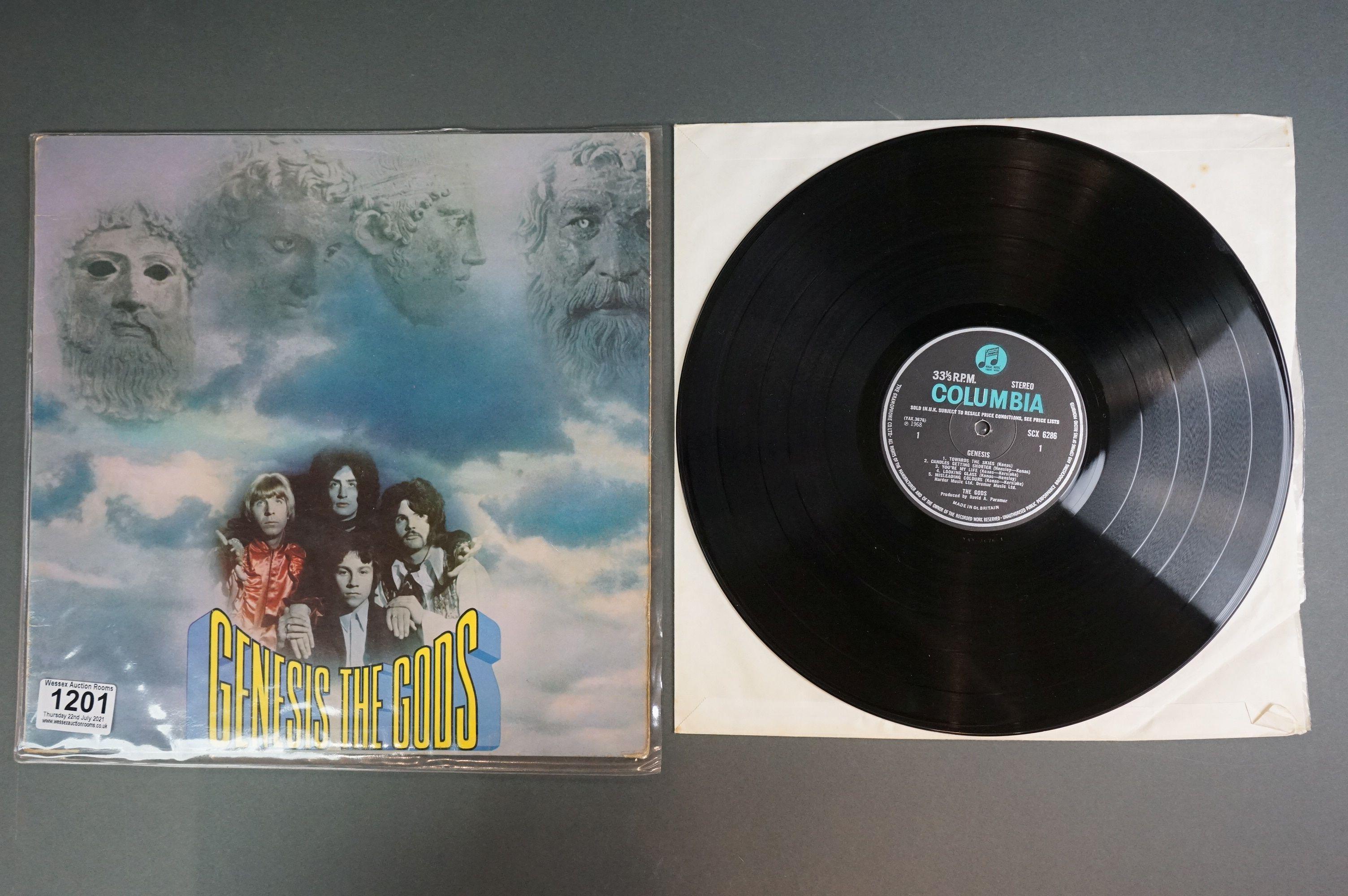 Vinyl - The Gods - Genesis LP SCX6286 sold in UK to label, sleeve and vinyl vg+ - Image 2 of 3