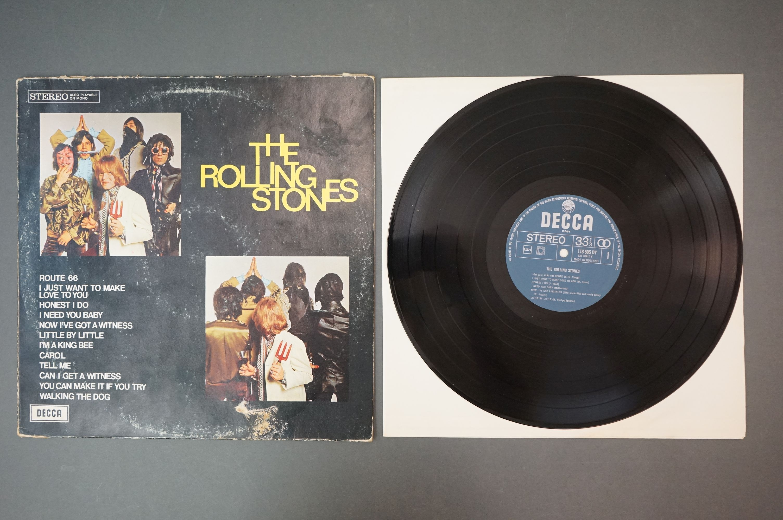 Vinyl - Rolling Stones 3 LP's to include Rolled Gold and Self Titled (both Dutch pressings), and - Image 9 of 10