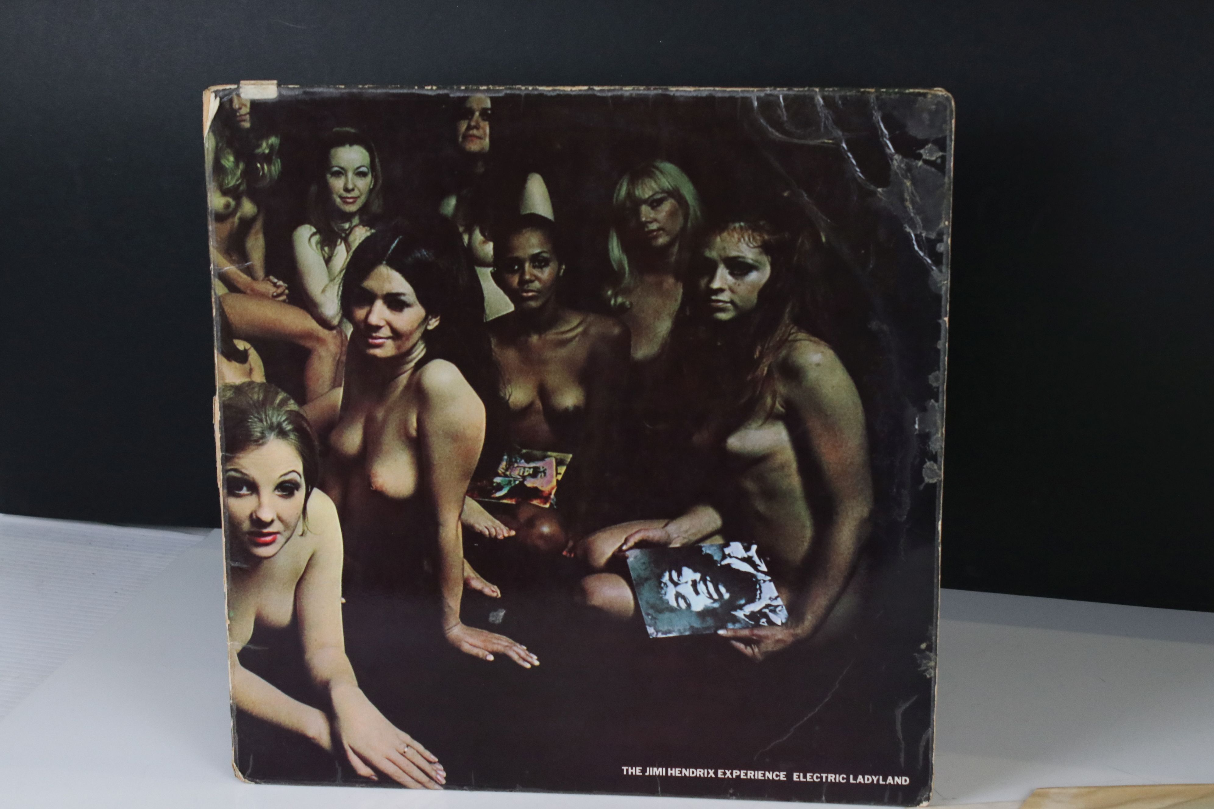 Vinyl - Jimi Hendrix Electric Ladyland LP on Track 613008/9 with inner with blue lettering with Jimi - Image 7 of 9