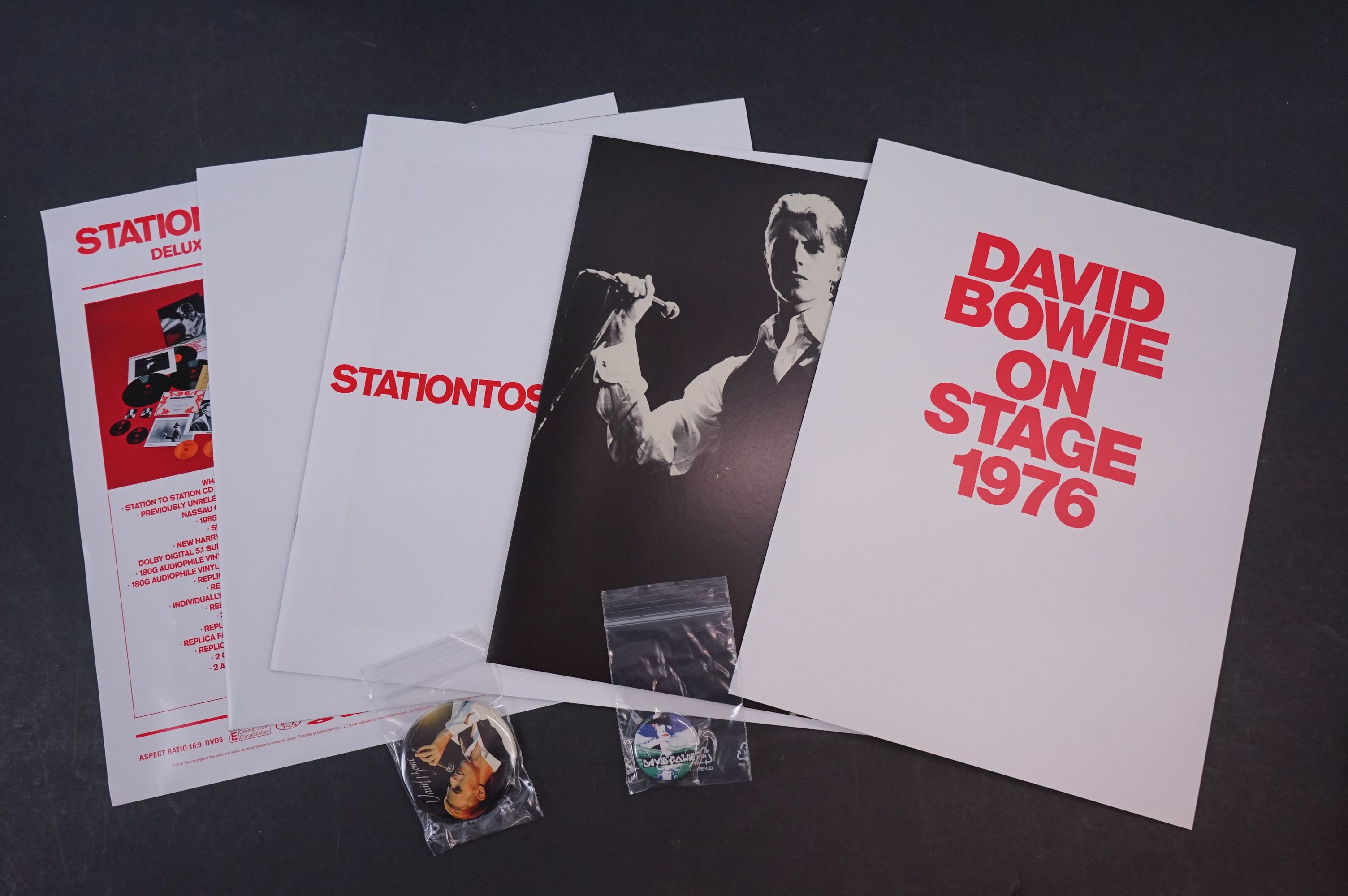 Vinyl / CD / DVD - David Bowie Station To Station Deluxe Box Set, vg - Image 10 of 15