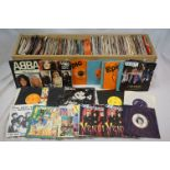 """Vinyl - Approx 200 vinyl 7"""" singles spanning the decades and the genres, picture sleeves, company"""