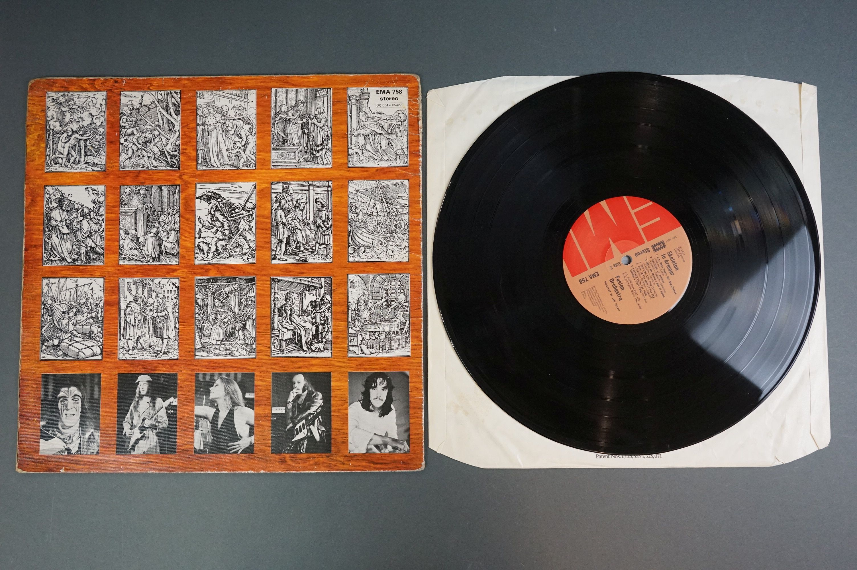 Vinyl - Fusion Orchestra Skeleton In Armour LP EMA758, sleeve vg+ with buffering to corners, - Image 3 of 6