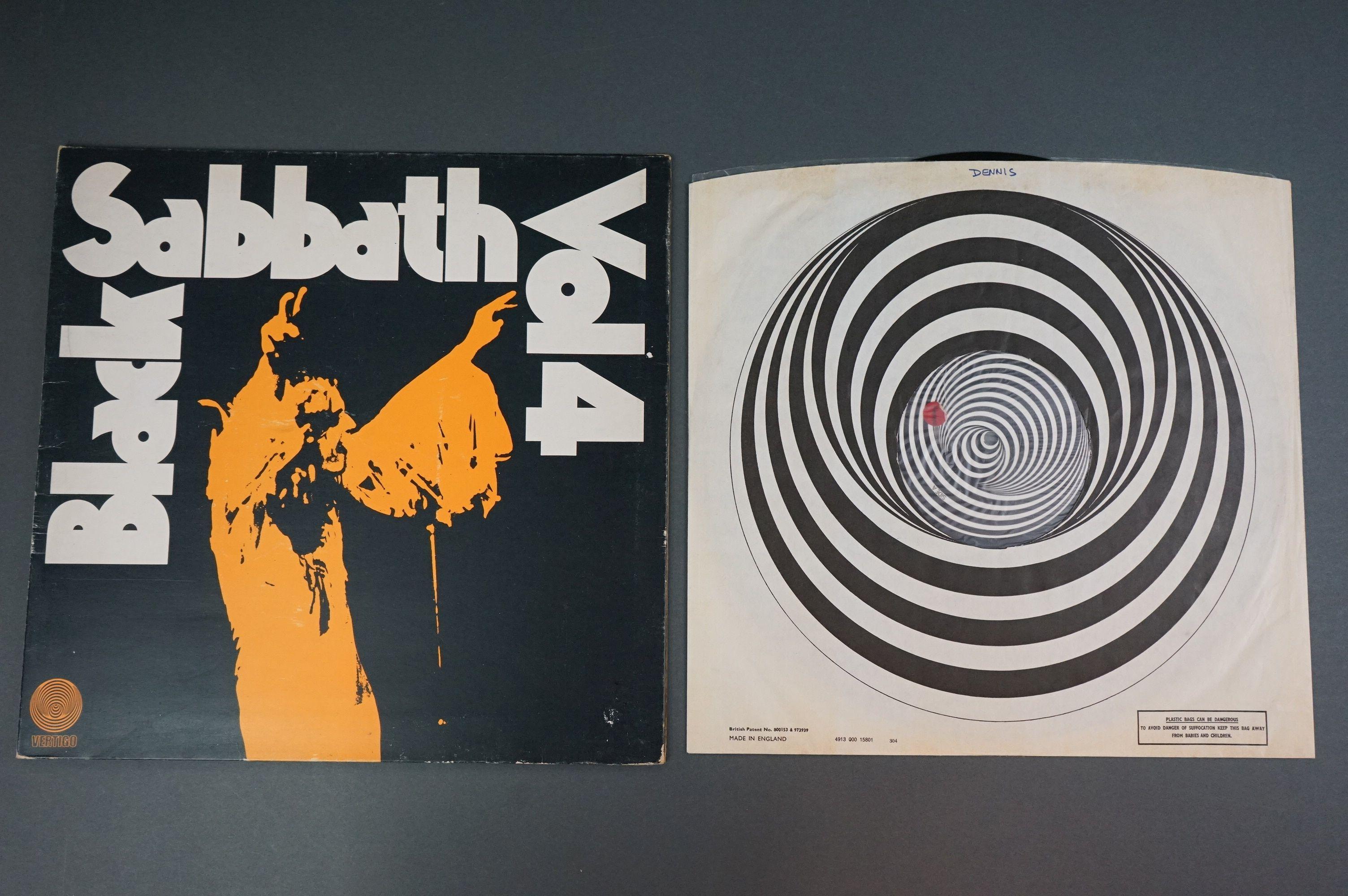 Vinyl - Black Sabbath vol 4 6360071 on Vertigo 1st pressing, no 'made in England' to label, gatefold - Image 3 of 6