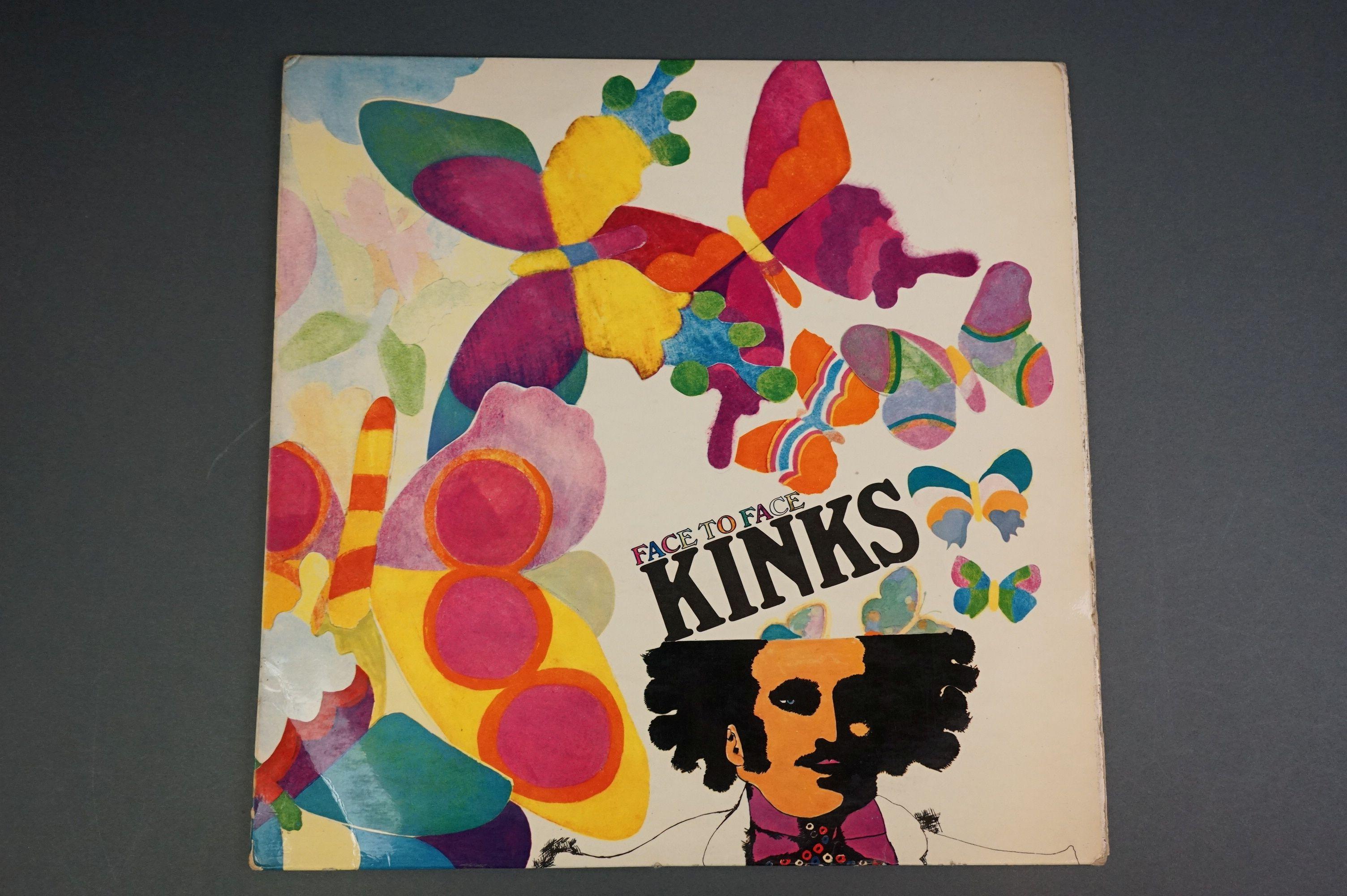 Vinyl - Kinks Face To Face NPL18149 Pye label, flip back, sleeve & vinyl vg+