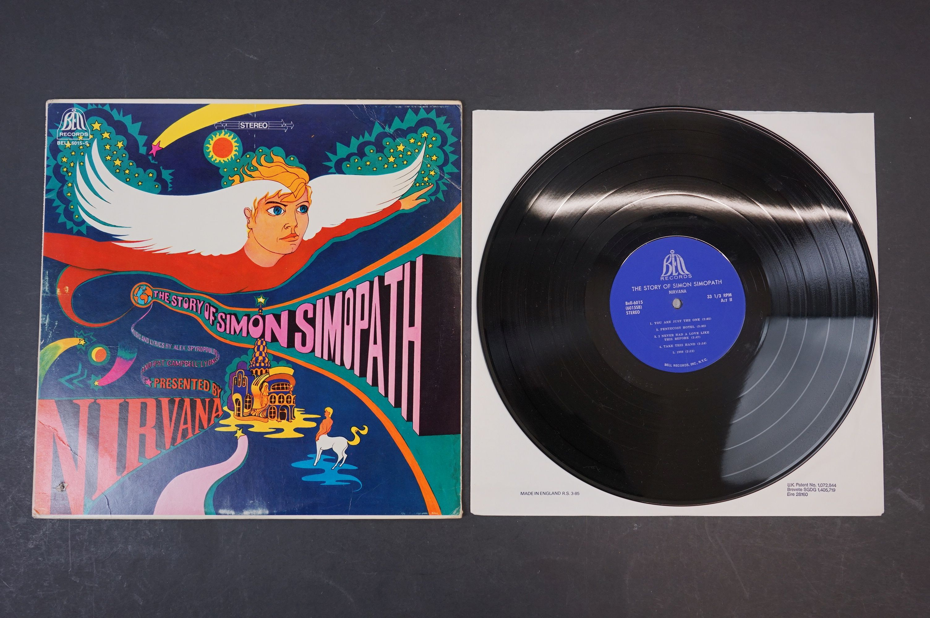 Vinyl - Two Nirvana LPs to include The Story of Simon Simopath LP on Bell Records 6015-S Stereo, - Image 2 of 13