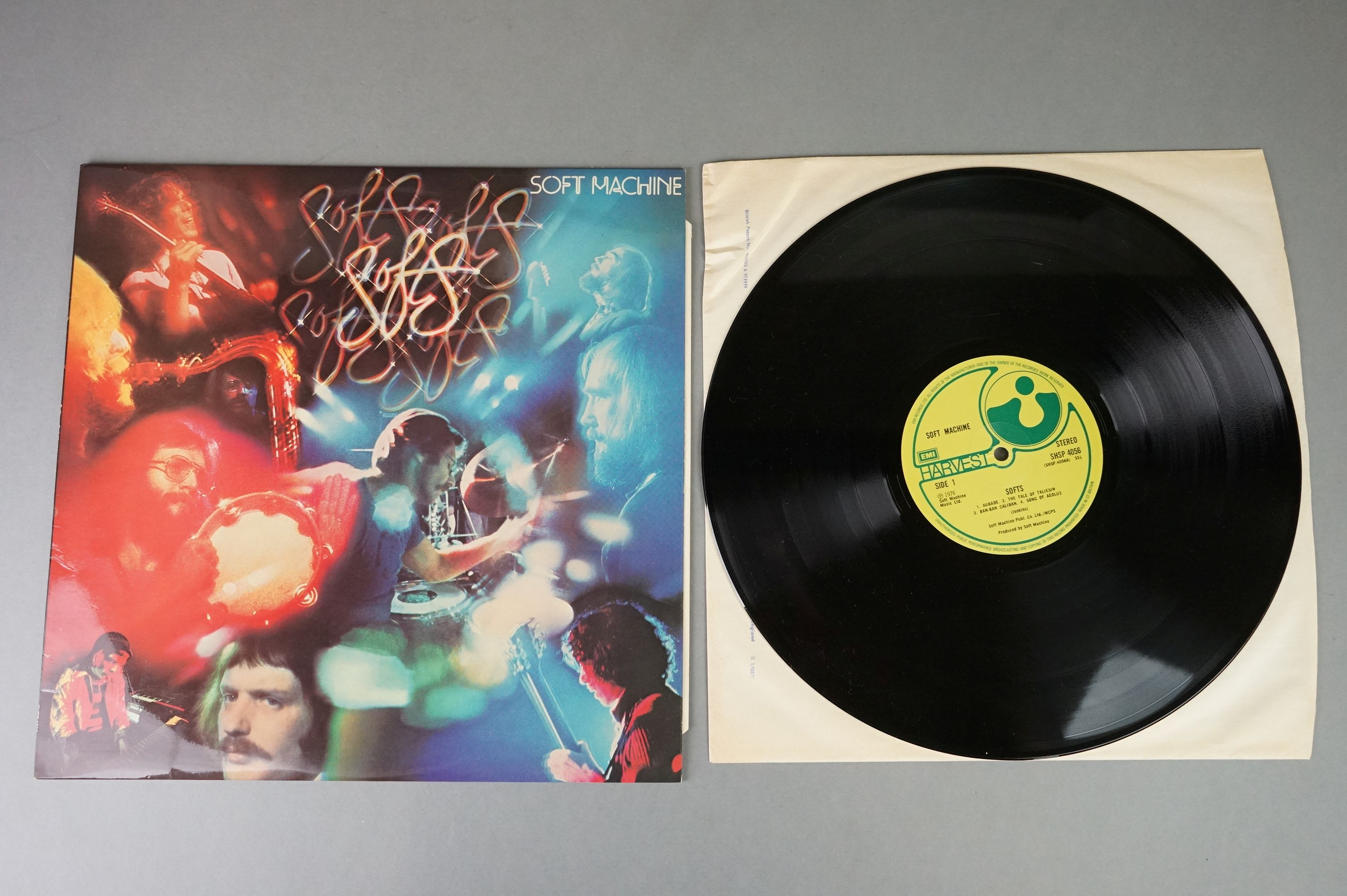 Vinyl - Two Soft Machine vinyl LP's to include Softs (EMI Records SHSP 4056), Volume Two (Probe - Image 6 of 9