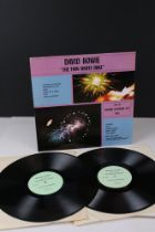 Vinyl - David Bowie The Thin White Duke 1977 Unofficial US Double LP release on Dragonfly label,