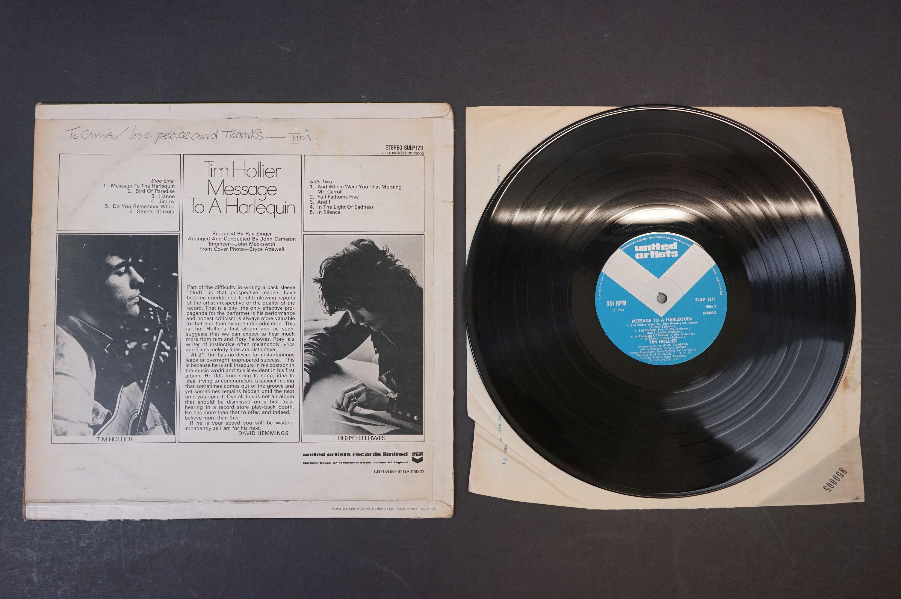 Vinyl - Acid Folk / Psych - Tim Hollier, Three scarce original pressing albums to include ?? - Image 3 of 7