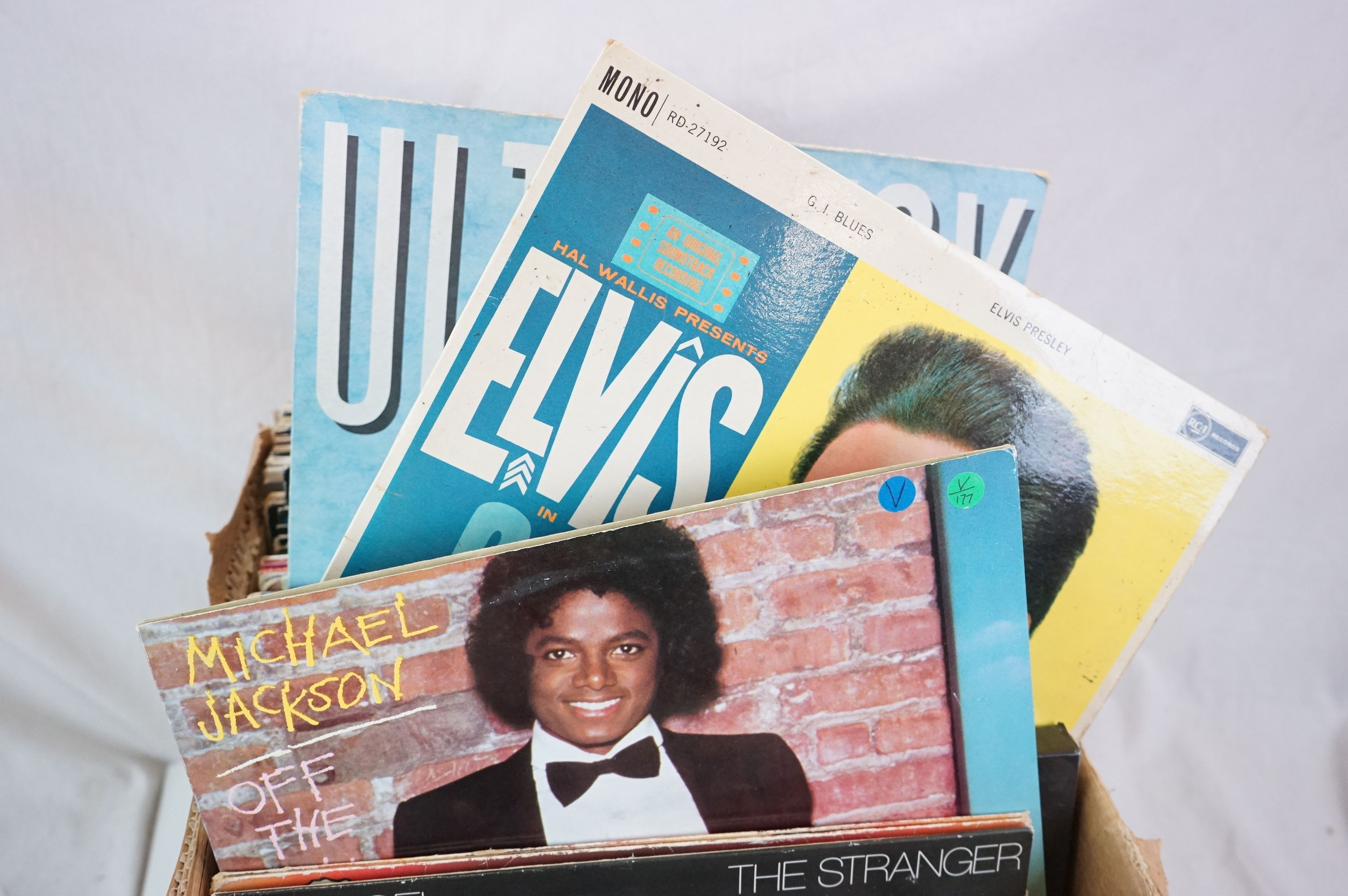 """Vinyl - Around 80 LPs and 12"""" single (mainly LPs) featuring Rock and Pop to include Blondie, Bon - Image 3 of 6"""