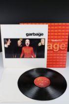 Vinyl - Garbage Version 2.0 LP on Mushroom MUSH29LP, with inner sleeve, initials of vendor to label,