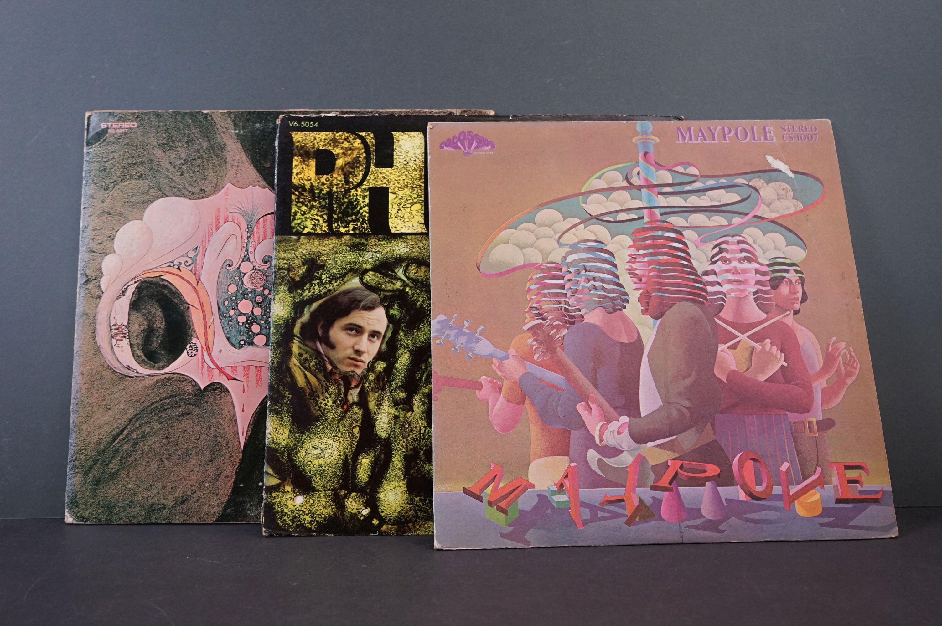 Vinyl - Psych - Three original Rare US pressing Psych albums. Maypole - Maypole (1971 US, Colossus