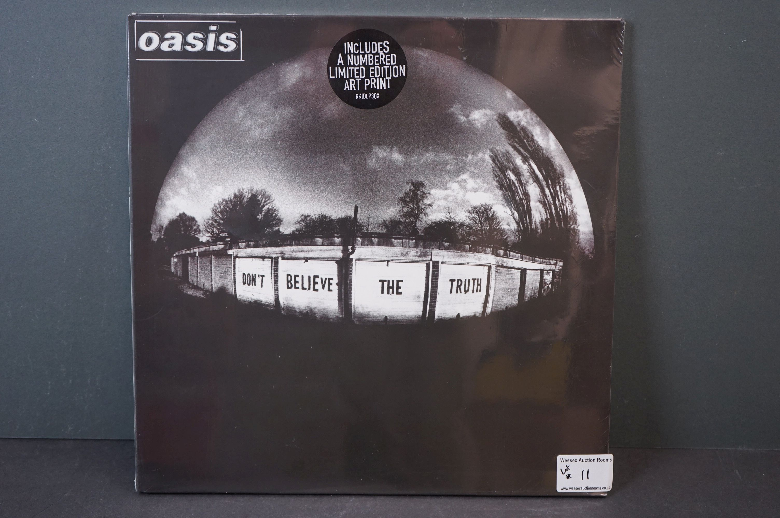 Vinyl - Oasis Don't Believe The Truth LP on Big Brother RKIDLP3OX, with ltd edn Art Print, sealed