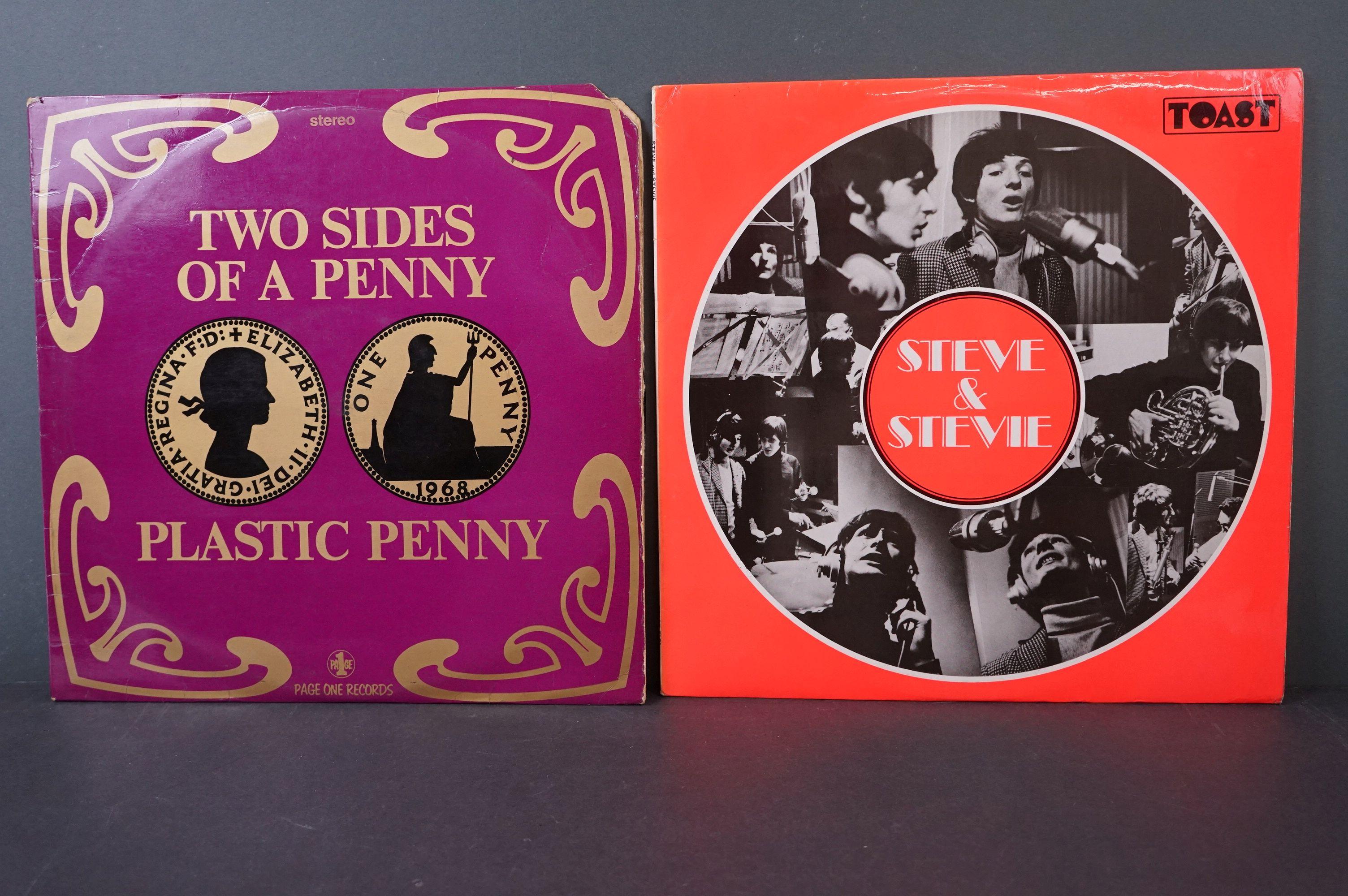 Vinyl - Psych - Two scarce original UK pressing Psych albums to include Steve & Stevie - Steve &