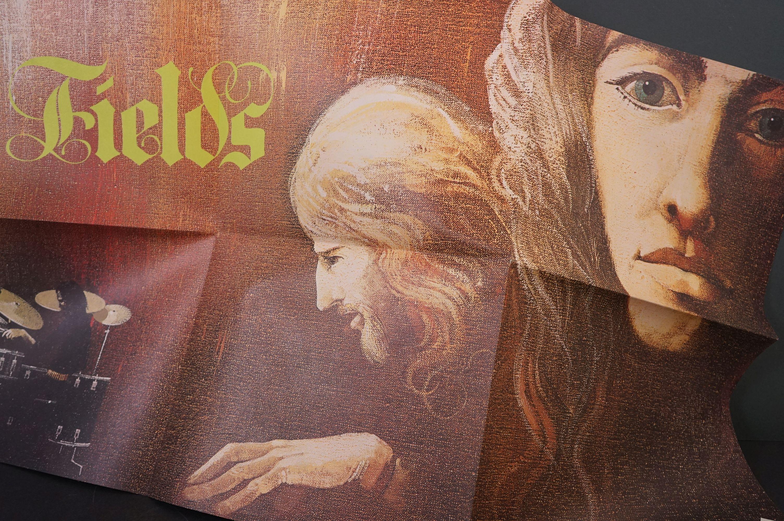 Vinyl - Prog Rock - Fields - Fields. UK 1st 1971 pressing with scarce poster, gatefold sleeve is - Image 5 of 6