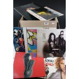"""Vinyl - Approx 50 vinyl LP's and 12"""" singles to include INXS, Janet Jackson, Micheal Jackson, ELO,"""