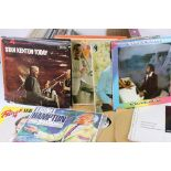 Vinyl - Collection of approx 50 LP's spanning genres but with lots of Motown, Soul, and some box