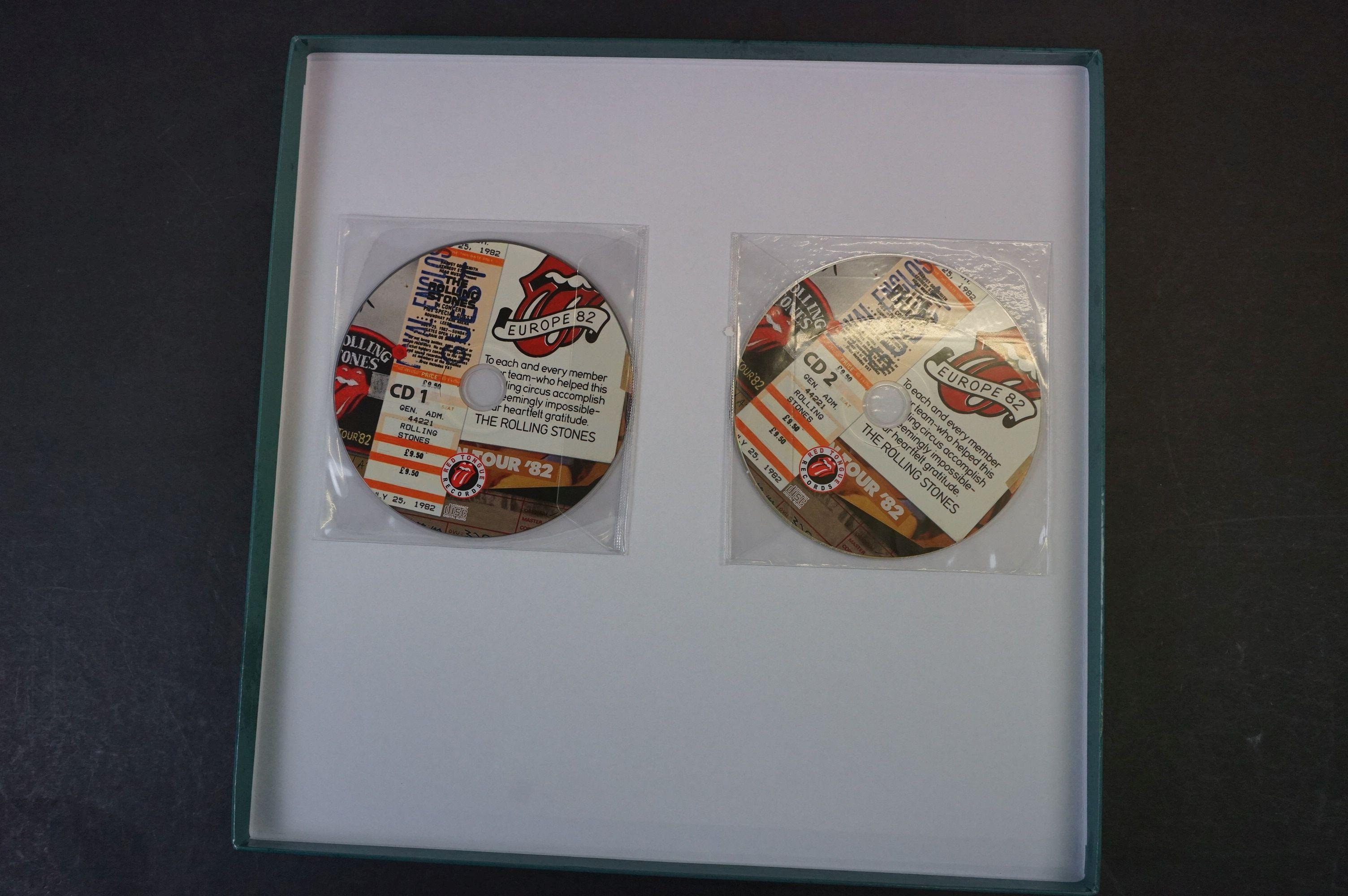 Vinyl - ltd edn The Real Alternate Album Rolling Stones Leeds July 25 1982 3 LP / 2 CD Box Set RTR - Image 2 of 10