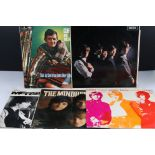 Vinyl - Five LPs to include The Rolling Stones no 1 LK4605 mono (pen to back cover), The Merseybeats
